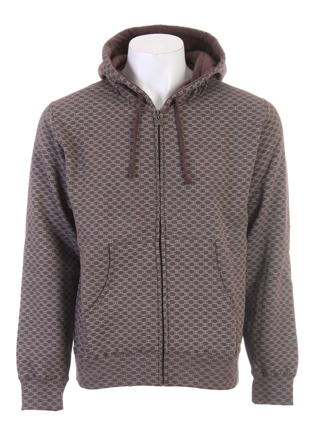 Skateboard If you've been looking for a new sweatshirt to buy then the new DC Monogramic Full Zip Hoodie would be a great choice. It is a men's sweatshirt and is made out of both polyester and cotton so that it will be super comfortable. This sweatshirt is perfect for wearing while skating or while out and about around town. This sweatshirt does have a fast sellout rate though so don't miss your opportunity to buy it today. It is a wonderful buy.80% Cotton / 20% Poly Knit Zips Sweatshirt - $21.95