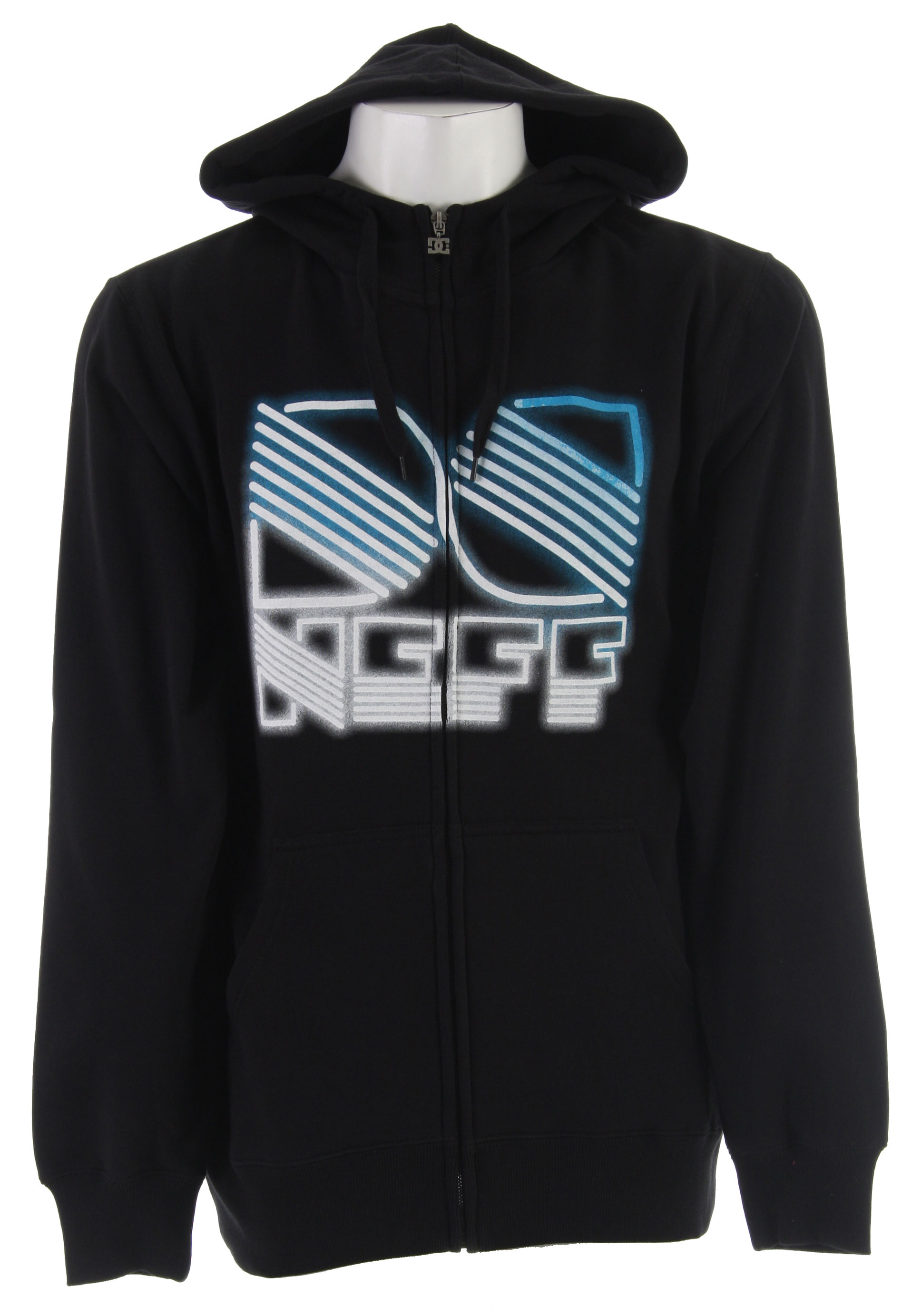 Skateboard Word is that you 'volunteered' to bring radically awesome style back to the streets, mountain, park, and Thanksgiving dinner. This collaboration hoodie will not be around for ever so get your while they last.Key Features of the DC Neff Hooded Hoodie Black:Custom DC/NEFF graphics 80% Cotton 20% polyester 330 gm Full zip Fleece lined hoodie - $27.95