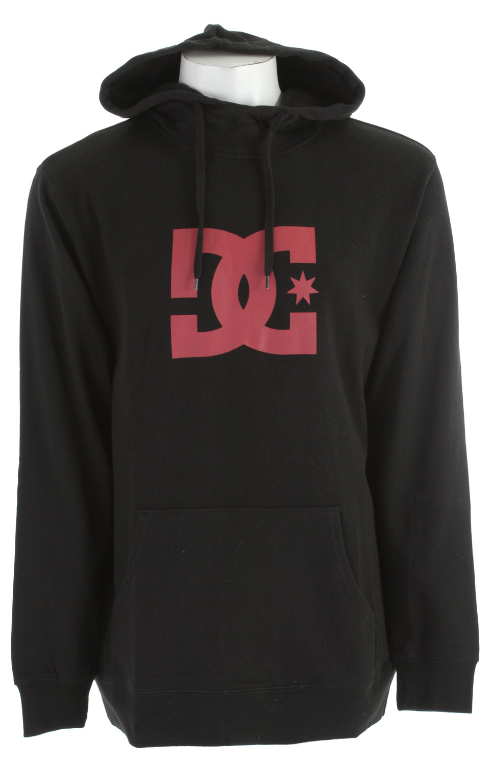 Skateboard Key Features of the DC Snow Star Fullzip Hoodie: Long fit fleece with full zip hood 80% cotton/20% polyester - $34.95