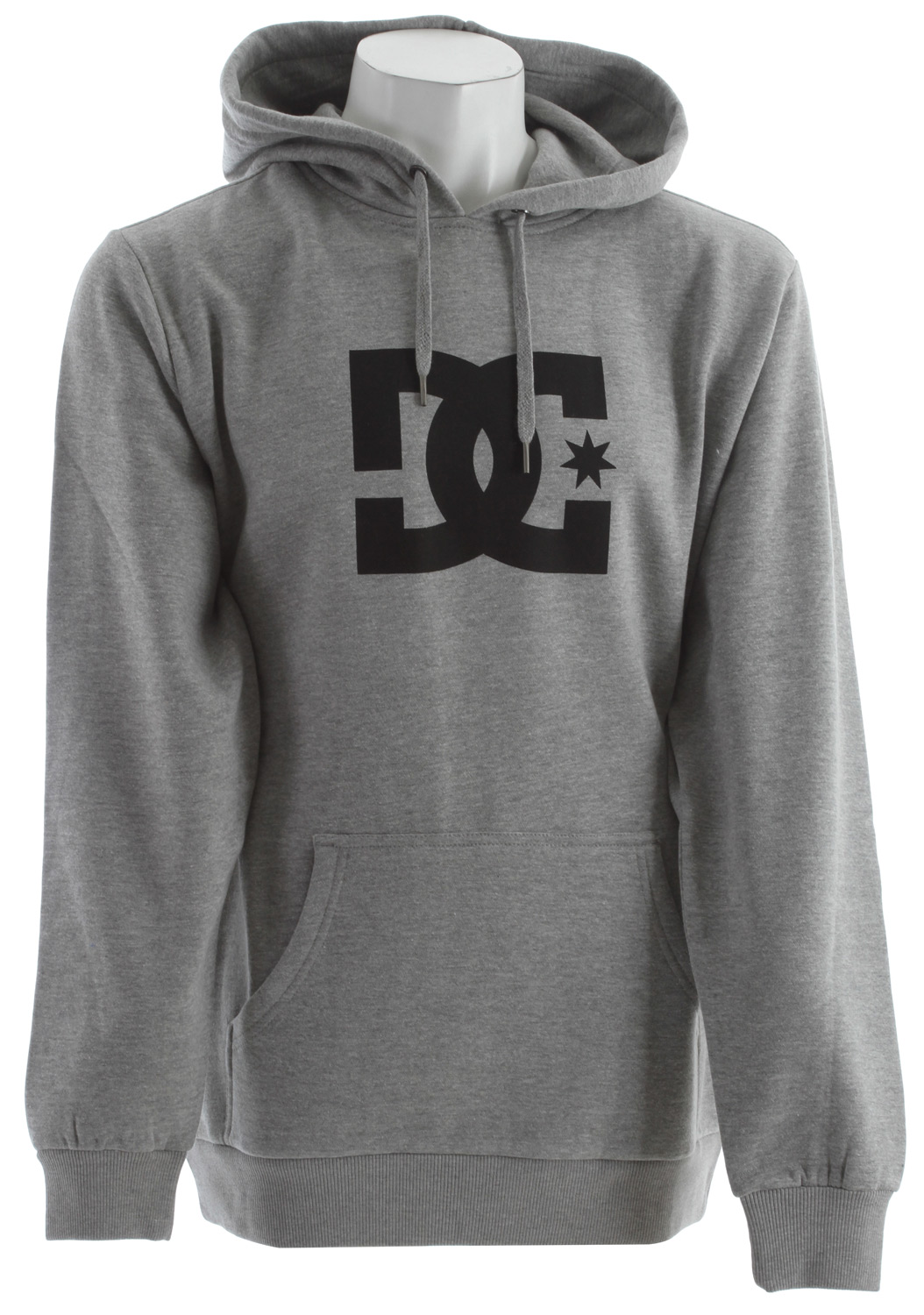 Skateboard Key Features of the DC Star PH1 Hoodie: Standard Fleece Pullover with Soft Hand Plastisol Print at Chest Custom Trim Package 80% Cotton, 20% Polyester - $50.00