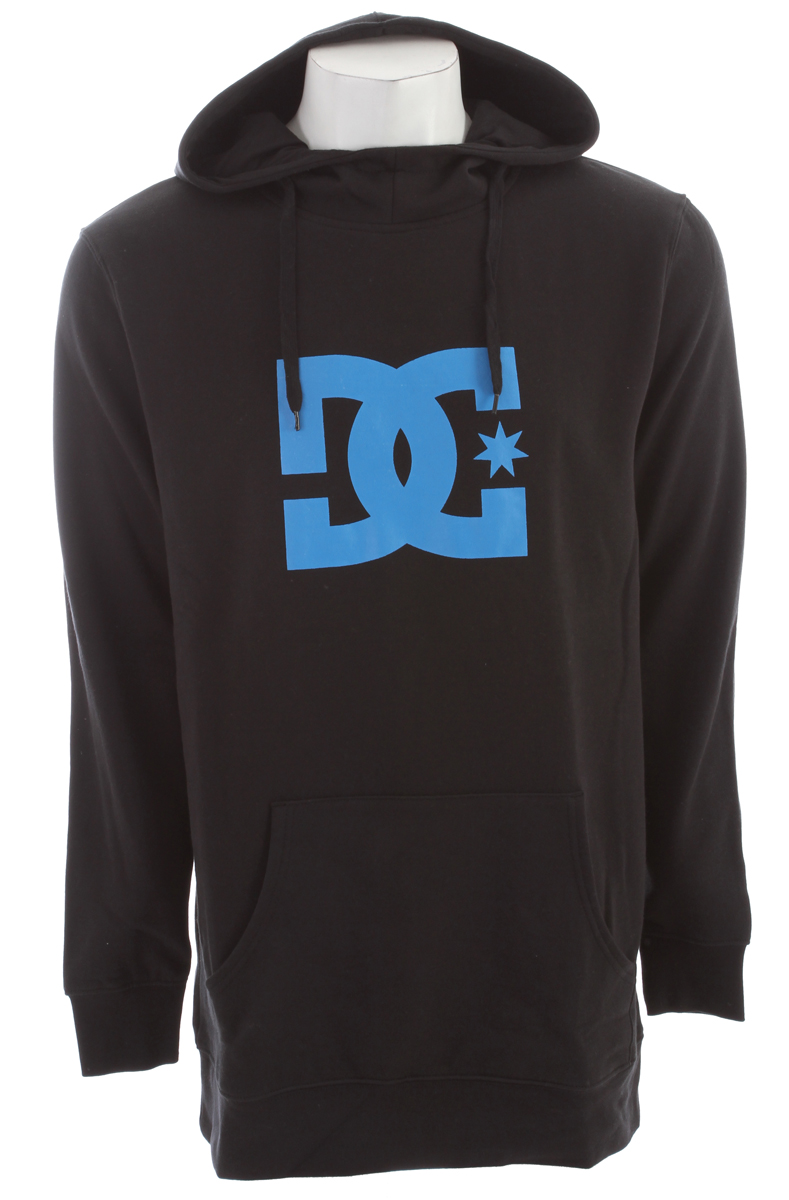 Skateboard Long fleece pullover hood with dc logo print on body.Key Features of the DC Starsnow Hoodie: Fit: long ph 80%cotton / 20% polyester 280g fleece - $32.95