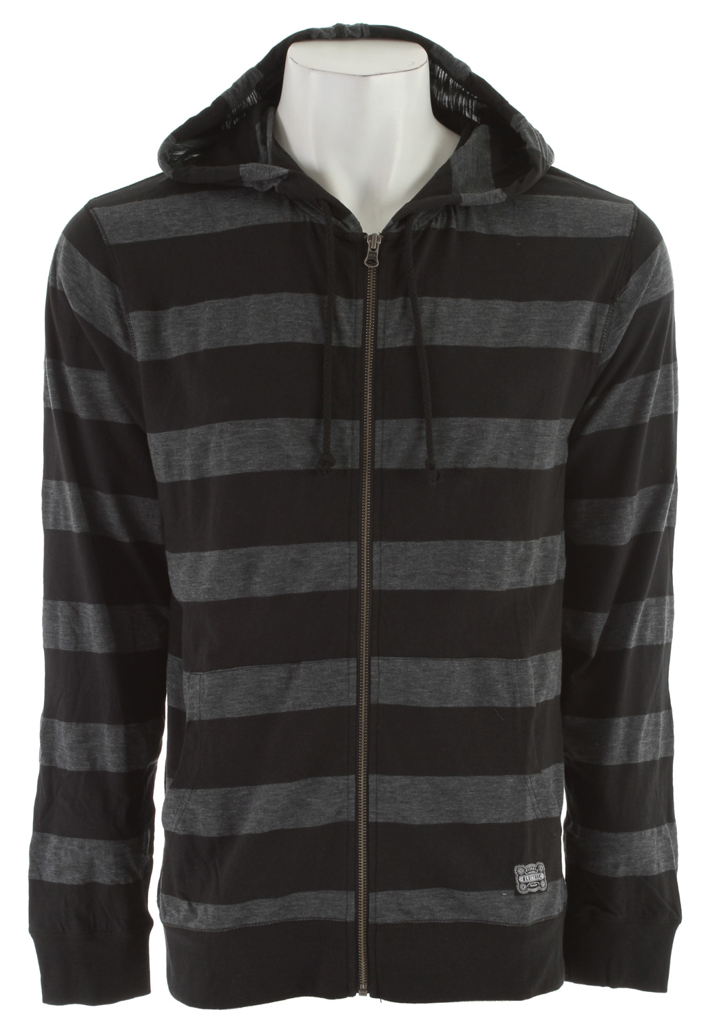 Key Features of the Electric Alley Zip Up Hoodie: Light Weight Hooded Fleece Slub Yarn 180 Gram, 74% Cotton / 26% Polyester - $44.95