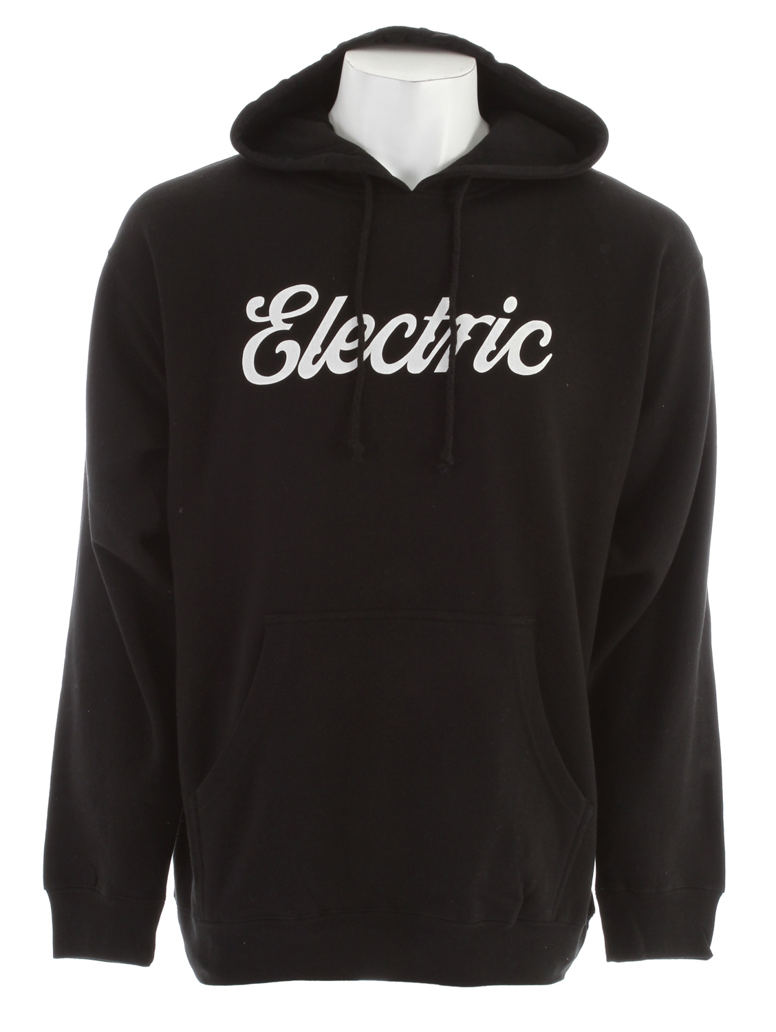 Key Features of the Electric Cursive Basic Hoodie: Men's Pull Over Fleece With Screenprint Basic Fit 80% Cotton 20% Polyester - $27.95