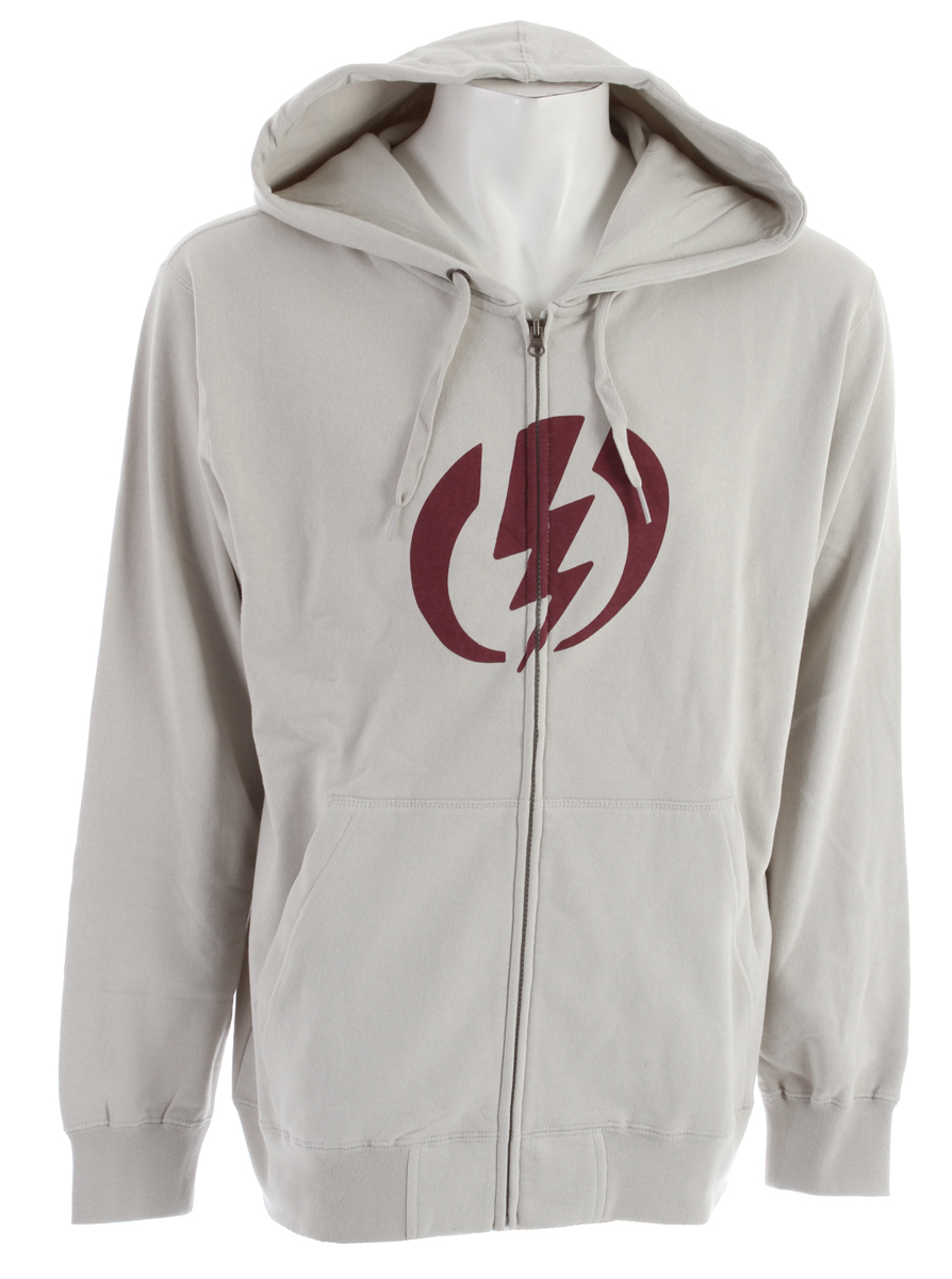 Key Features of the Electric Standard Volt Hoodie: Men's Hooded Zip Fleece Screen Print 280 grams, 84% Cotton / 16% Polyester - $34.95