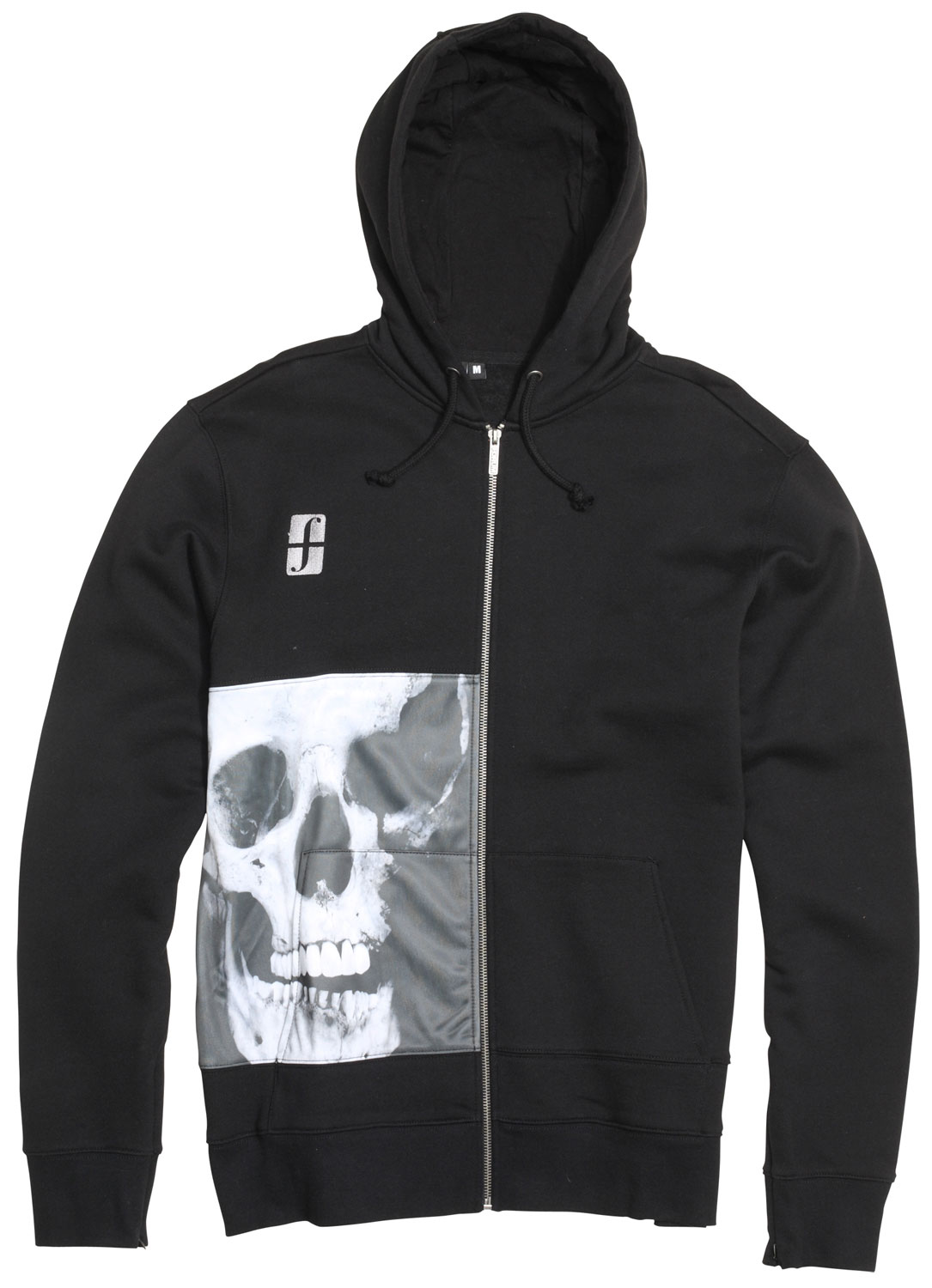 Key Features of the Forum Destroyer Full Zip Hoodie: Full-zip hoodie Regular fit 80% cotton 20% polyester brushed fleece, 300g 100% polyester front-right panel 100% cotton jersey hood lining Hidden media pocket - $32.95
