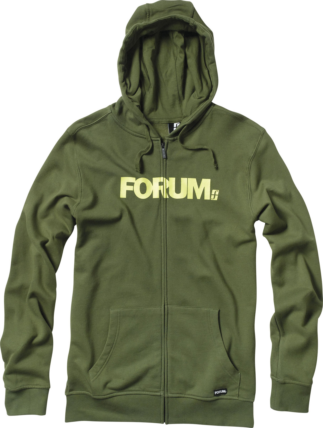Key Features of the Forum Werdmark Full Zip Hoodie: Full-zip hooded fleece Regular fit 80% cotton, 20% polyester, 300 g Screen-printed artwork - $27.95
