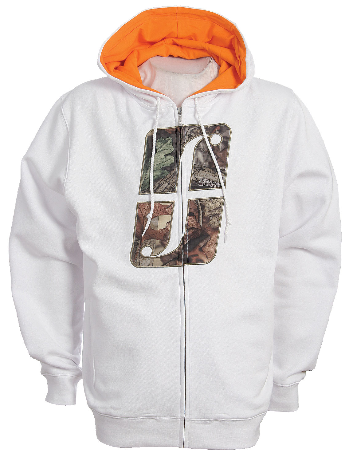 Listen up! Forum has unleashed the Woodland Icon Zip Hoodie. It is perfect for those sunny days on the slopes. It's 80% cotton and 20% polyester, so it will definitely keep you comfortable when you are trying to get air. Its Camo Forum icon on the chest brings mad style to the full zip. Forget your gloves? No worries the Woodland Icon Zip Hoodie comes equip with hand warmer pockets to keep your fingers cozy.Key Features of The Forum Woodland Icon Full Zip Hoodie:80% Cotton 20% Polyester Woodland Camo Applique Hand warmer pockets - $20.95
