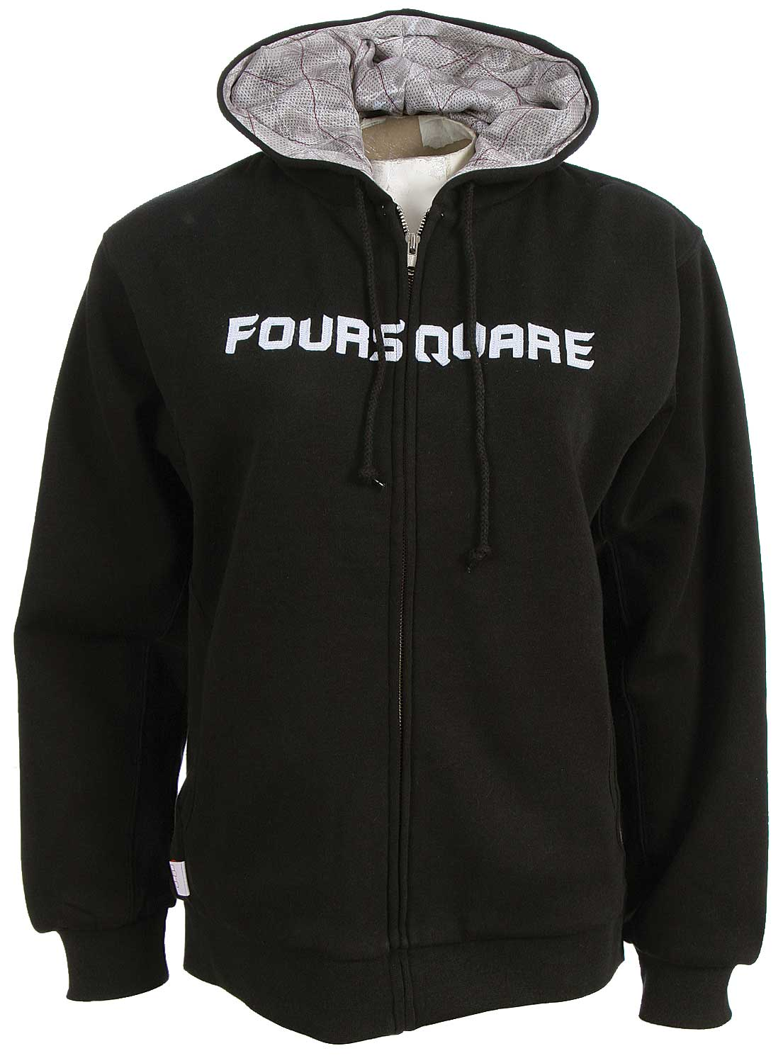 Snowboard The Foursquare Pasley Lined Fullzip Women's Hooded Sweatshirt. Another great hoodie from Foursquare. 80% cotton 20% polyester 360 gm. - $34.95