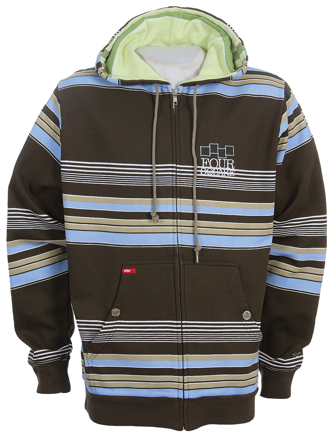 Snowboard All Over Print of Polo StripesIcon ChestSleeve Embroidery80% Cotton / 20% Polyester 360 gram - $27.95