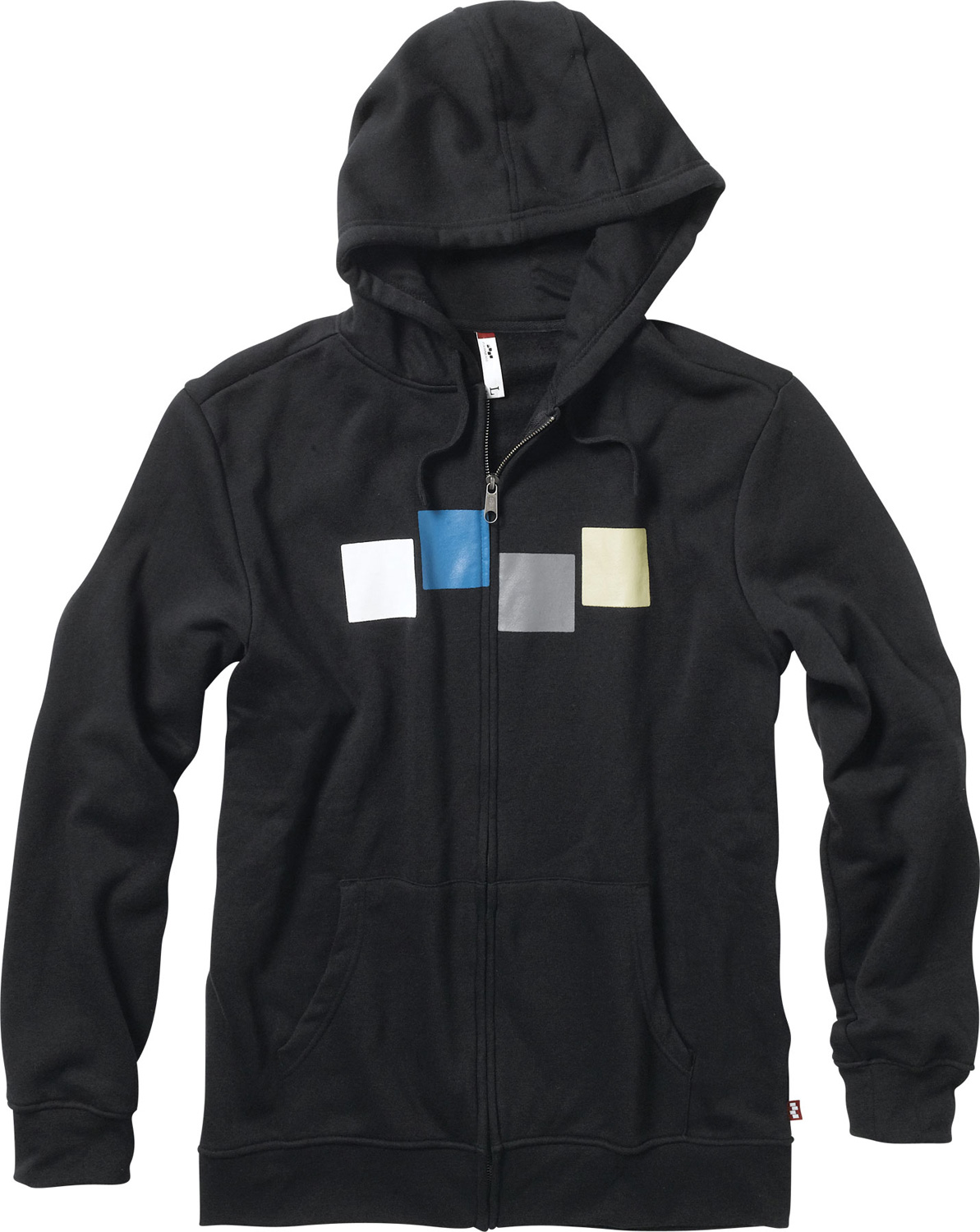 Snowboard Key Features of the Foursquare Rig Zip Hoodie: Material: Brushed Fleece Full zip hoodie 60% cotton40% polyester, 300 gms. 100% cotton jersey hood lining. Screenprint art Regular fit - $27.95