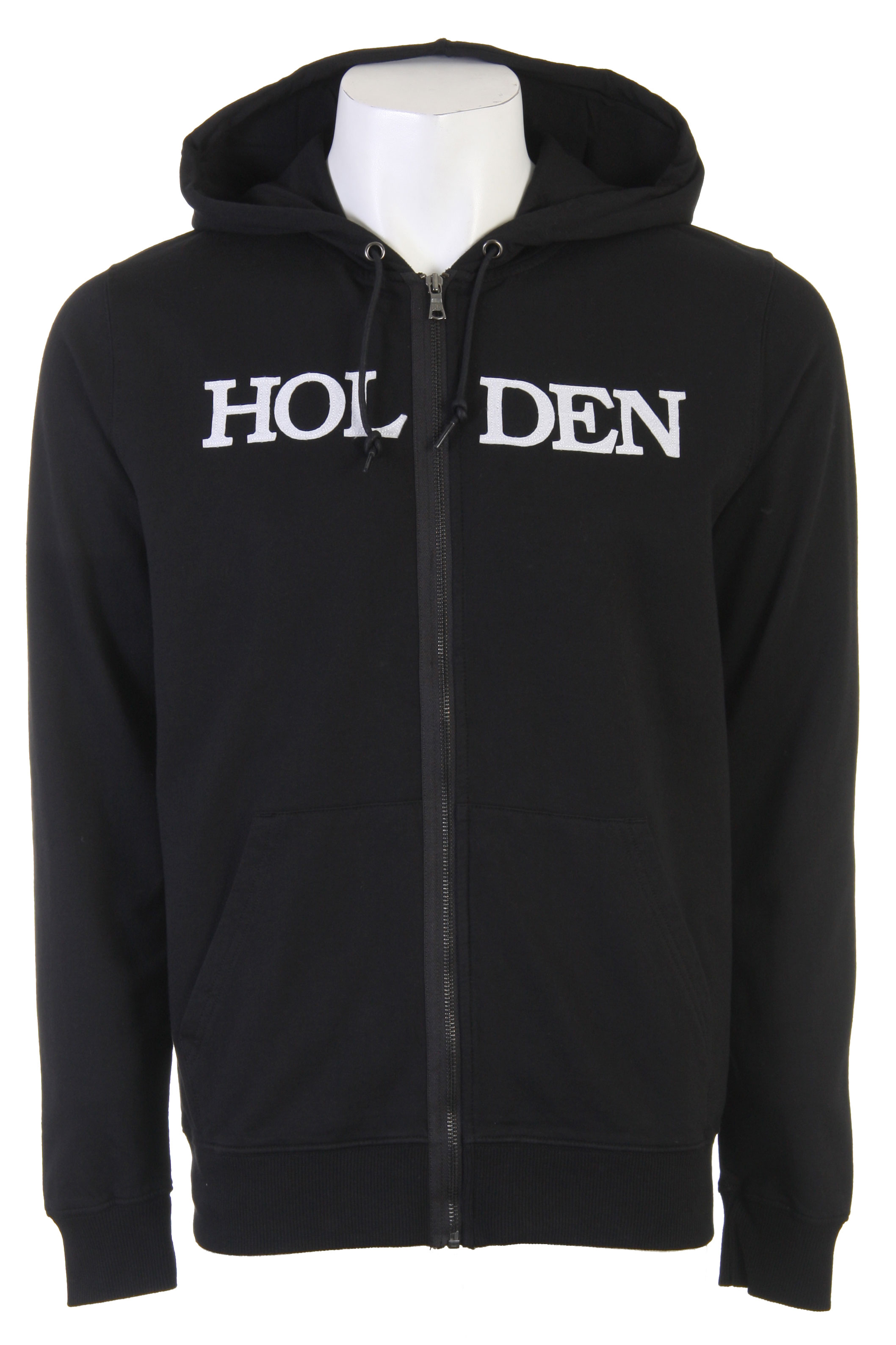Check out this cool looking Holden hoodie, it has the Felt bookman logo applique on the front of the hoodie, and is great for cold weather and having fun. With a variety of sizes and colors from you to choose from there is no way you can go wrong with this Holden hoodie. Simple yet awesome design, great snow boarding wear, so get warm this winter year and say bye bye to the winter weather this season!Key Features of the Holden Bookman Zip Hoodie: Mid-weight fleece with heavy garment wash for soft vintage feel Felt bookman logo applique on frontWaxed cotton drawcord detail 80/20 Cotton Poly - $44.95