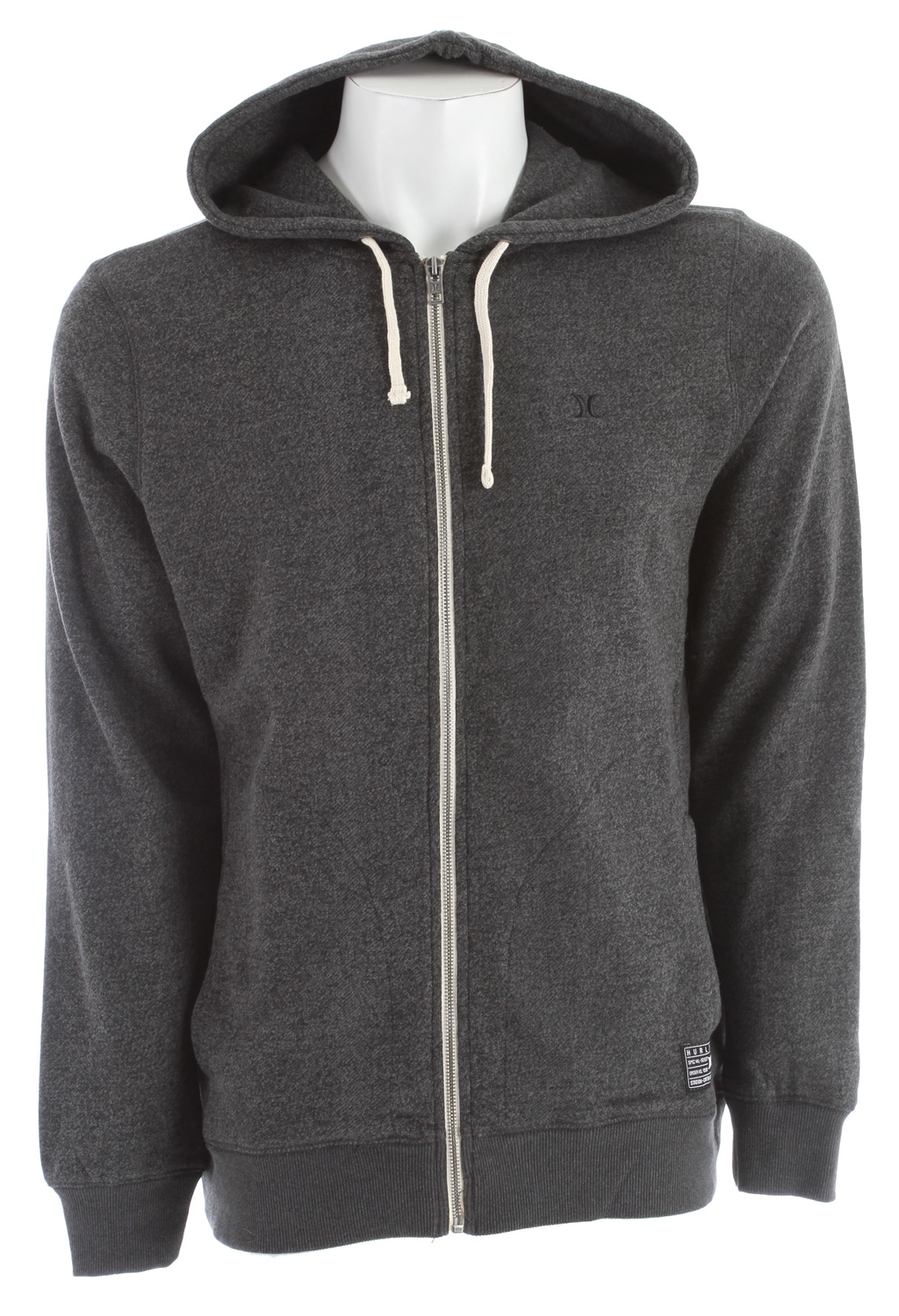 Surf Key Features of the Hurley Vacation Zip Hoodie: Regular Fit 65% Cotton/35% Polyester French Terry 280gsm Classic full zip hoodie with unique Hurley trims - $35.95