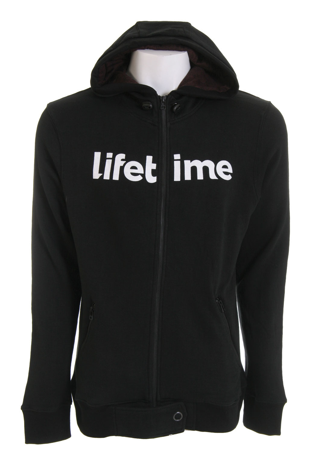 "Skateboard This Lifetime hoodie blends simple style and edgy fashion to a ""T""A! The Lifetime Collective Photo Incentives Hoodie is 100% cotton and heavyweight for all weather conditions. Take it from the skate park to school with ease! It features a YKK zip closure, logo zip hood, and is constructed of solid fleece. The lined hood has contrasting custom circles that set this hoodie apart from the pack. Wherever you go, go there in style with this great hoodie from Lifetime.Key Features of The Lifetime Collective Photo Incentive Hoodie: 100% Cotton Logo Zip Hood Solid Fleece YKK Zip Closure & Zip Welt Pockets CF Hem Flap Cover with Open Ring Snap Custom Circles Printe Lined Hood Logo Screenprint on Chest - $48.95"