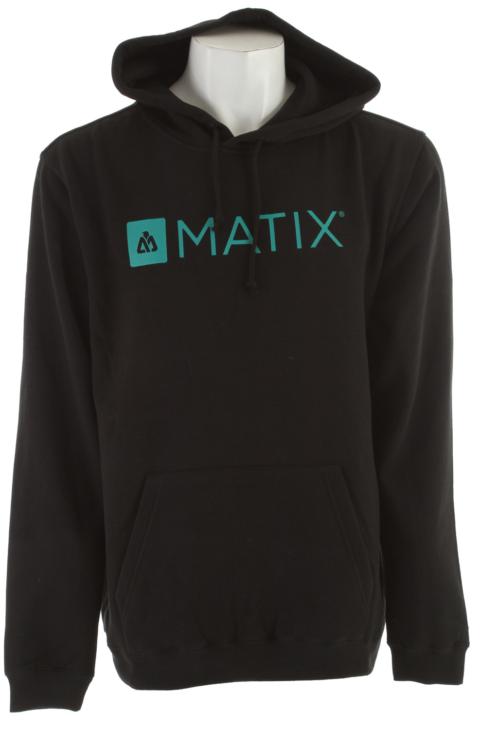Key Features of the Matix Monolin Hood Hoodie: Custom fit 80% cotton/20% poly Center chest Monolin inkprint with Monovert back hit and Monoset embroidery at left sleeve on custom hooded sweatshirt - $30.95