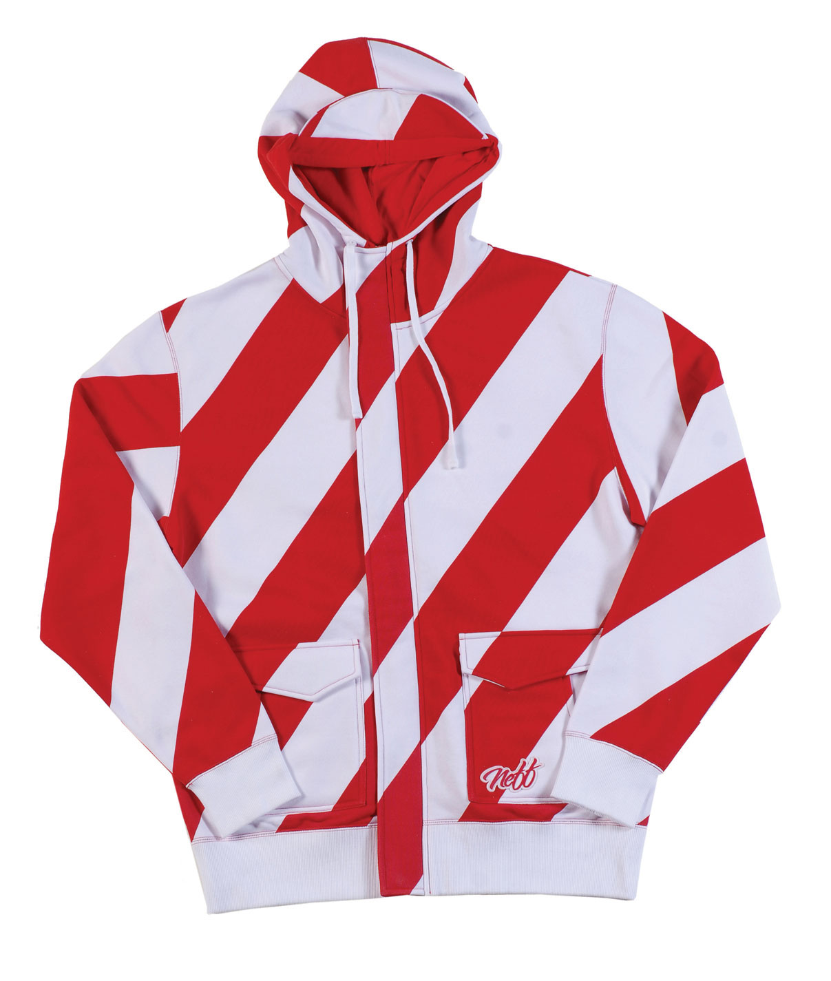 Skateboard If you hanging out in the Candy Cane Forest or on top of Gum Drop Mountain this hood willis ready to shred. With added storm flaps and this water resistant hoodie it top notch. If you don't have a bonded fleece hoodie yet, you have been missing out on some of best hoodie technology out there. Get one and stay dry! Water resistant Loose fit Full zip Candy pockets - $44.95