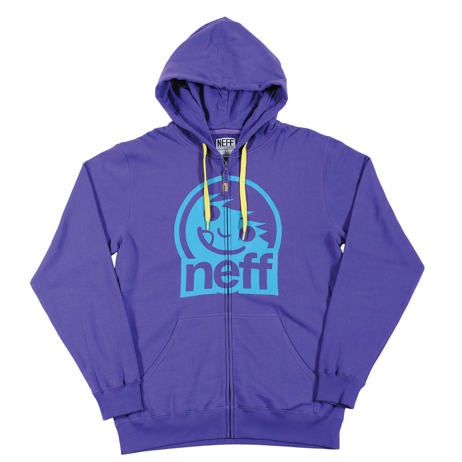 Skateboard Key Features of the Neff Corpo 2 Hoodie: 80% Cotton, 20% Polyester - $50.00