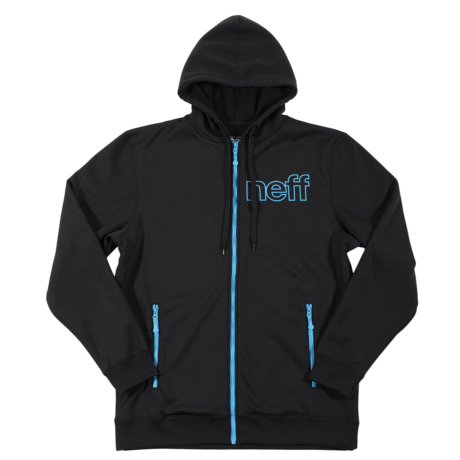 Skateboard Key Features of the Neff Daily Shred Hoodie: 100% Poly Bonded Fleece - $49.95