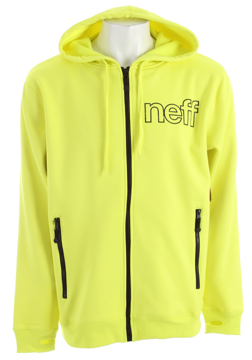 Skateboard Key Features of the Neff Daily Shred Hoodie: 100% Poly Bonded Fleece - $39.96