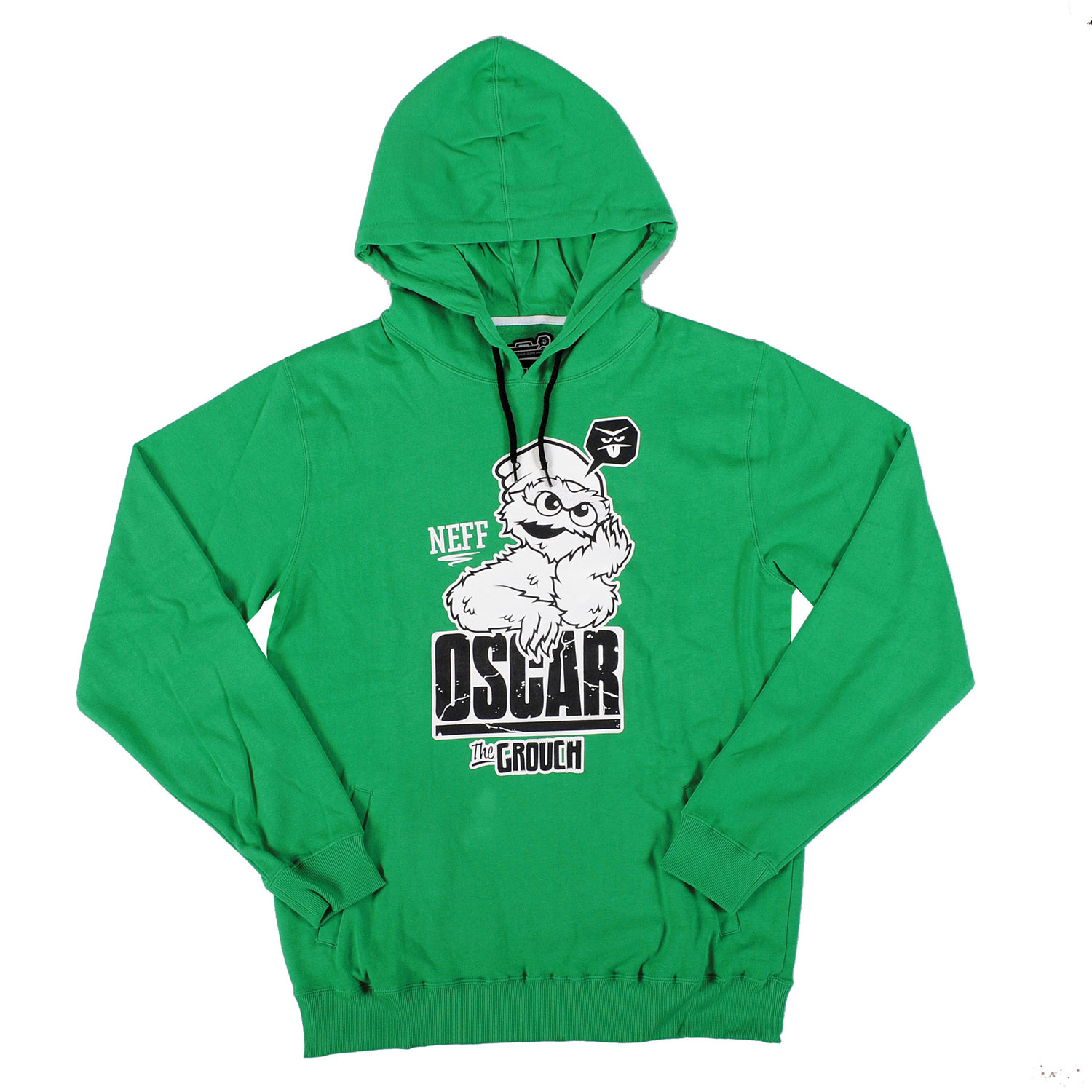 Skateboard Key Features of the Neff Grouch Hood Hoodie: 80% Cotton, 20% Polyester - $55.00