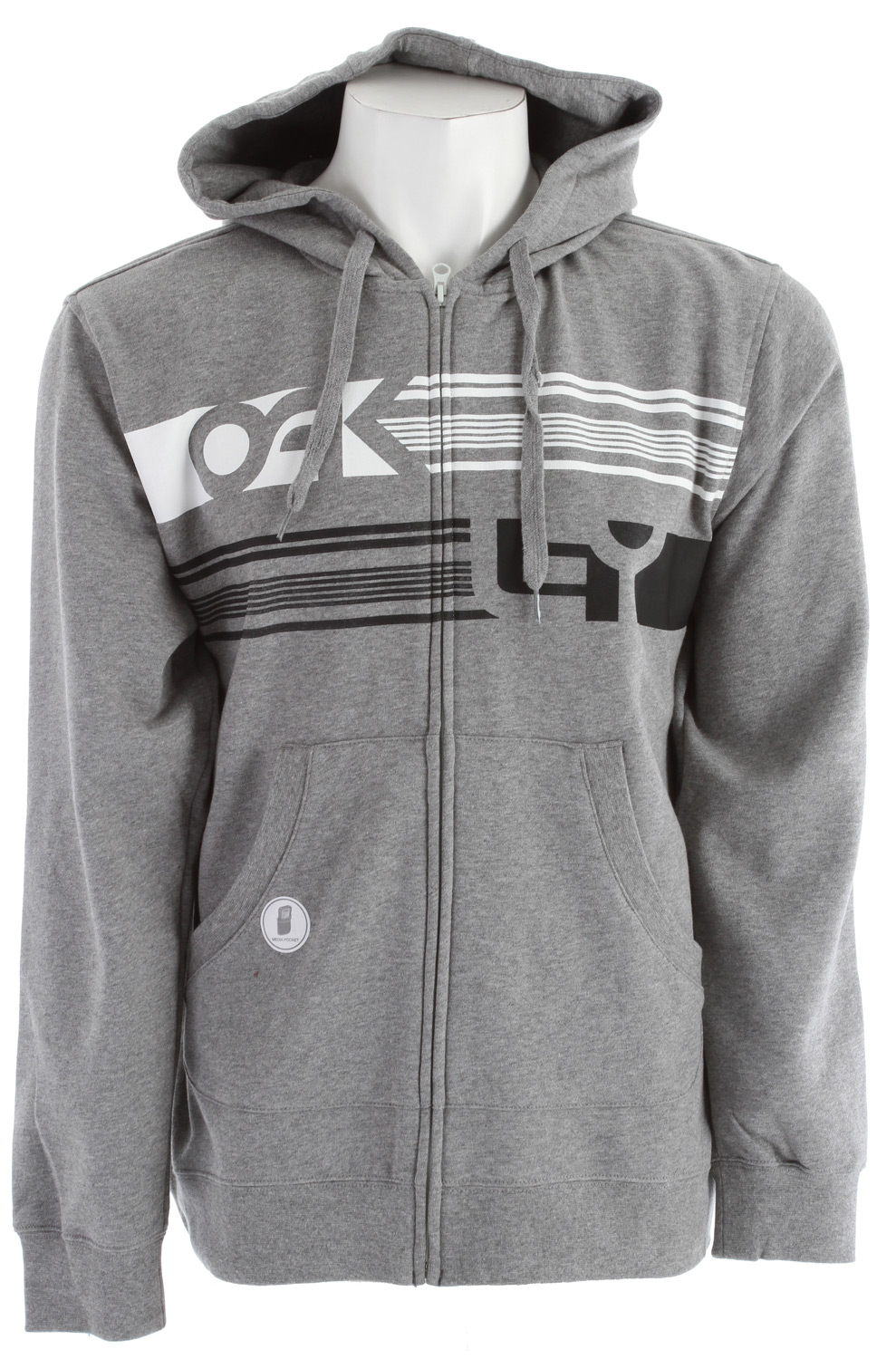 Full zip hoody with marsupial hand pockets and logo screenprint.Key Features of the Oakley Memorable Hoodie: 80% cotton, 20% polyester 240g - $34.95
