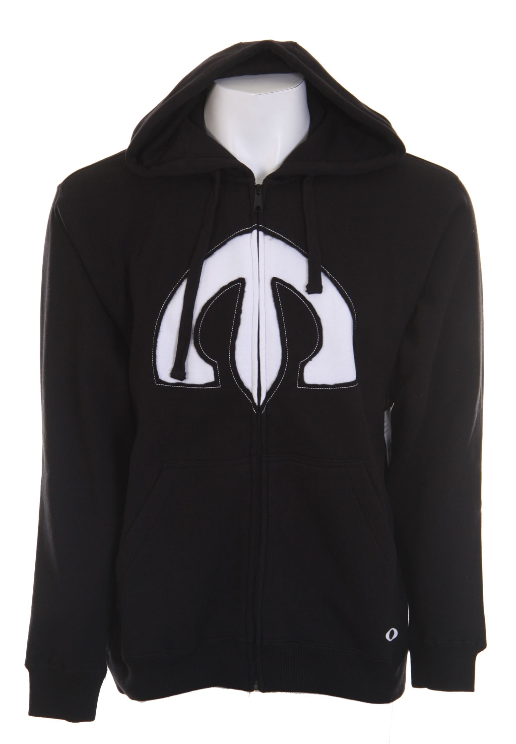 Full-zip hoodie with marsupial hand pocket, front applique and back screen print.Key Features of The Oakley Toac Sword Men's Hoodie: 80% Cotton and 20% Polyester Fit: Regular - $35.95