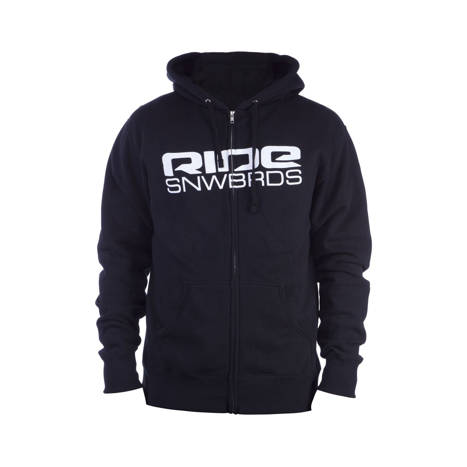 Key Features of the Ride Corp Logo Full Zip Hoodie: 280g 80% Cotton / 20% Poly Center Front Screen Print Lower Back Screen Print - $41.95