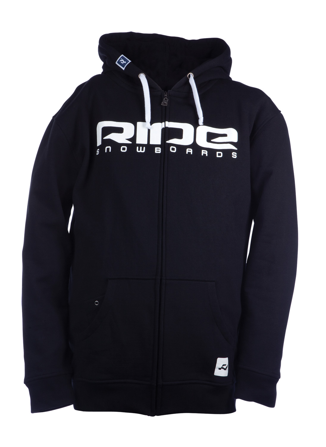 Guns and Military Key Features of the Ride Logo Full Zip Hoodie: 280g, 80% Cotton / 20% Polyester - $48.95