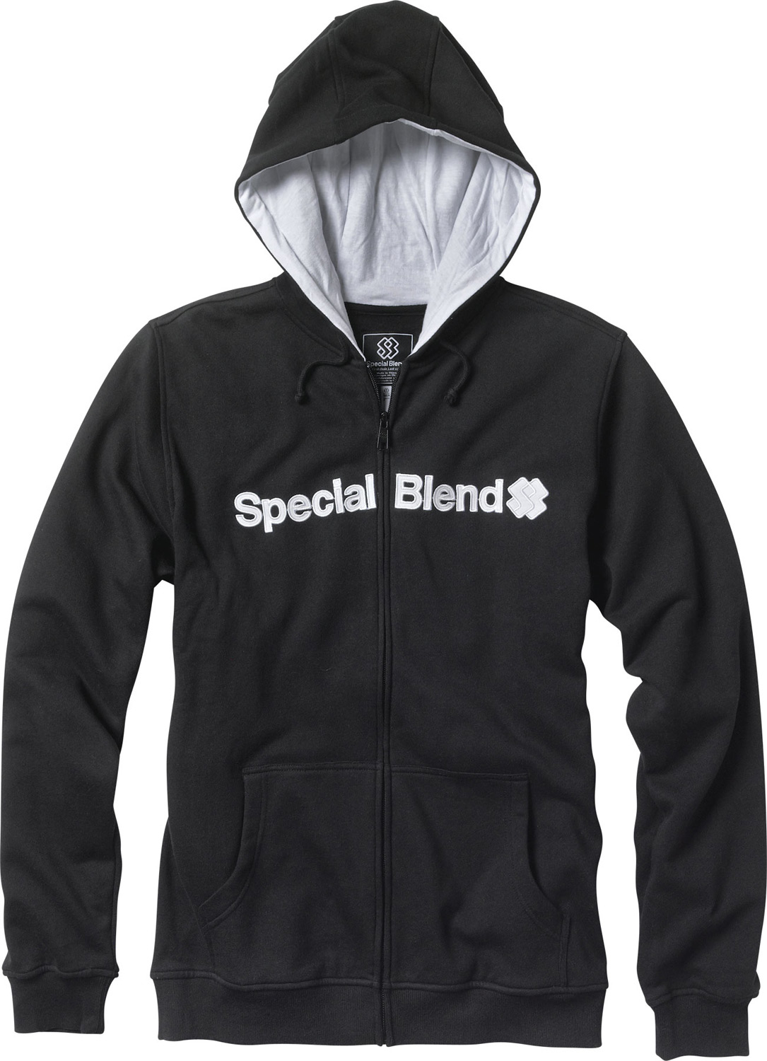 Key Features of the Special Blend Blended Zip Hoodie: Full zip hooded fleece Freedom fit 80% cotton 20% polyester, 300 gms. Screenprint art - $34.95