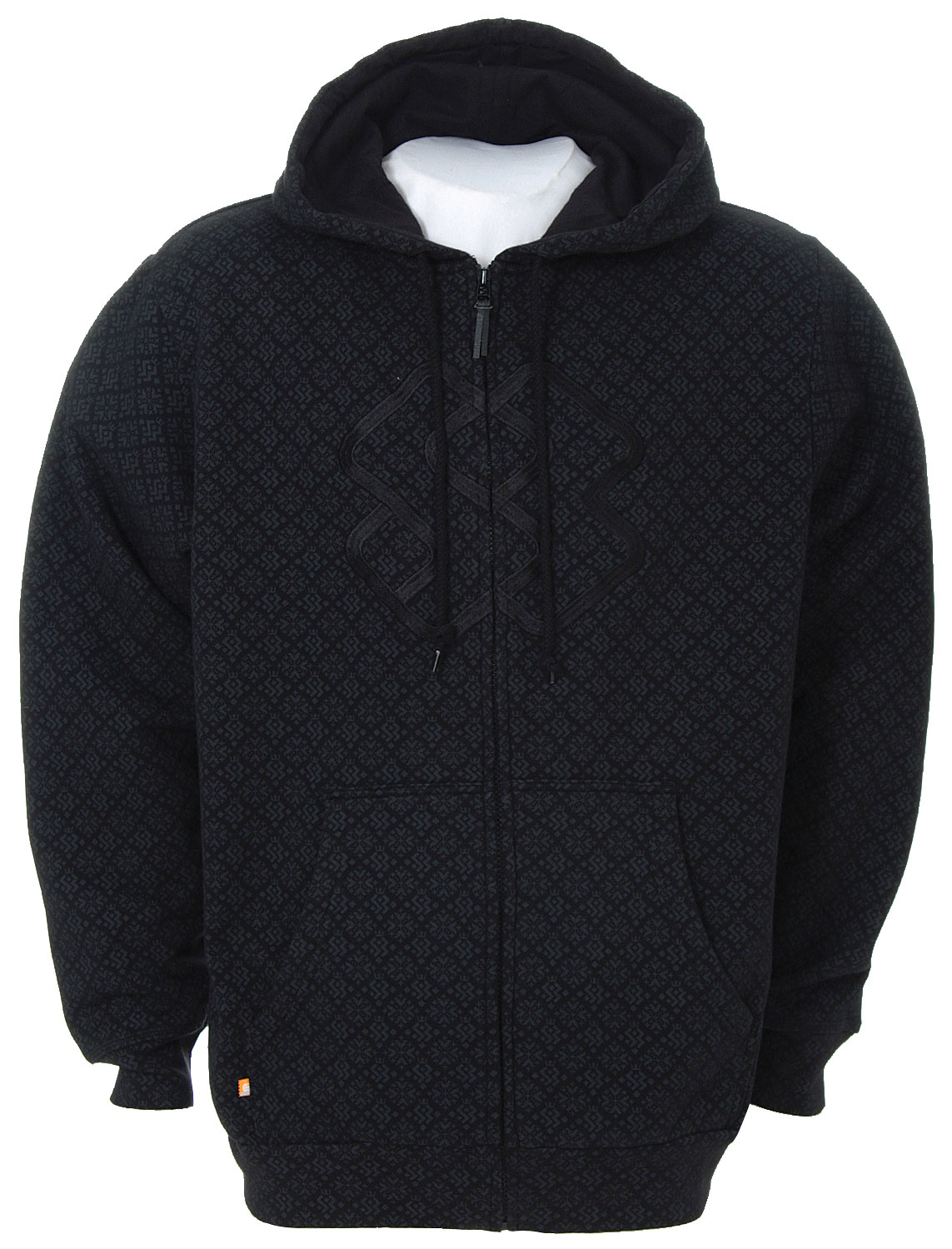 Key Features of the Special Blend Invader Zip Hoodie Black Invader: 80% Cotton/20% Polyester 360gm - $34.95