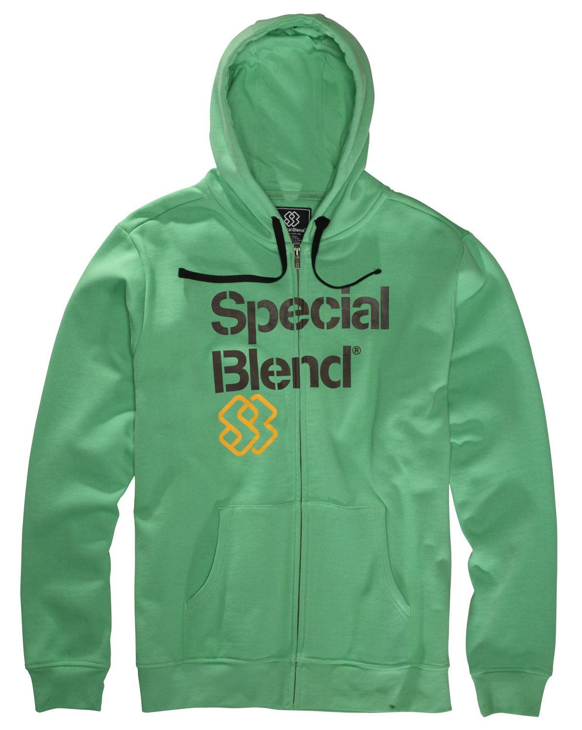The Special Blend Principal Fullzip Hoodie is made with cotton and polyester featuring a fleece lined hood made with 100% cotton. So comfortable to the touch, wear it all winter long and layer it with your favorite shirt. With its zip up feature, be sure to put it on and off with ease making this the practical hoodie to own. Keep yourself warm and bundle up in the Special Blend Principal Fullzip Hoodie this season.Key Features of the Special Blend Principal Fullzip Hoodie: Freedom fit 80% cotton 20% polyester, 300 gms. 100% cotton jersey hood lining. - $34.95