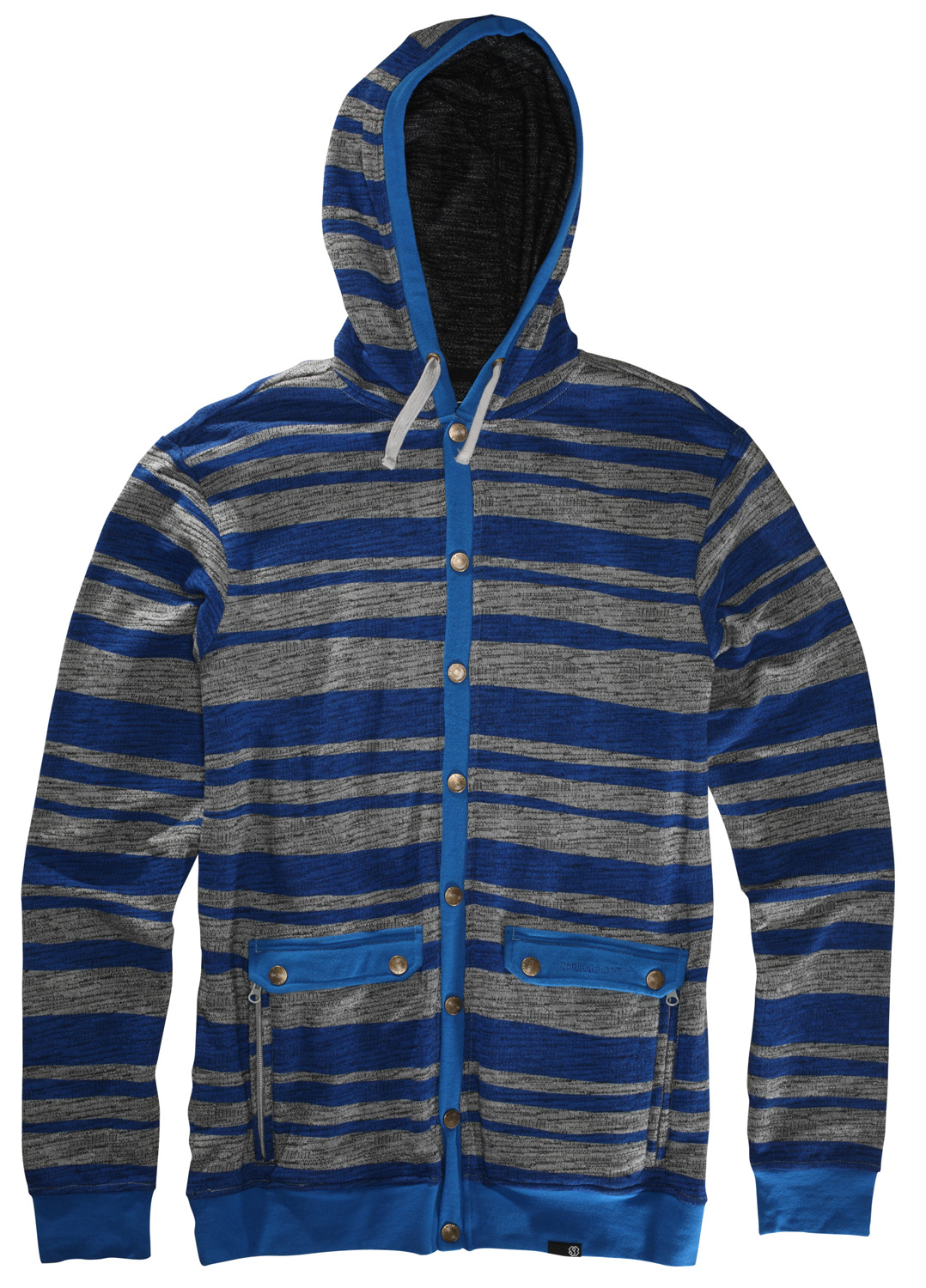 Cardigan style slub French terry hoody Key Features of the Special Blend Rogers Fullzip Hoodie: Revolver Slim fit 60% cotton 40% Polyester, 300 gms. 100% cotton jersey hood lining. Hidden media pocket - $36.95