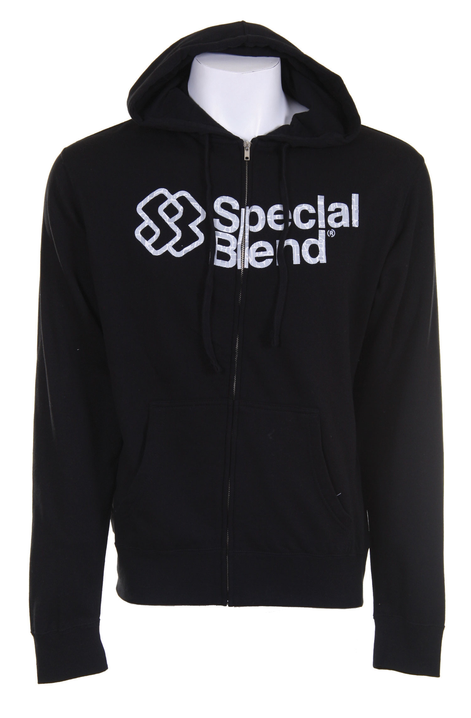 Snowboard This Special Blend Struggle Wordmark Full Zip Hoodie could easily become your favorite hoodie ever in the history of hoodies. The slim fitting design is made out of 80% cotton and 20% polyester. It features a screen print on the hood and another screen print on the chest with the Special Blend name and logo. Put this on after an epic day of snowboarding and cut the chill while still looking like you're some kind of big deal.Key Features of The Special Blend Struggle Wordmark Full Zip Hoodie: 80% Cotton / 20% Polyester Slim Fit Chest and Hood Screen Print - $20.96