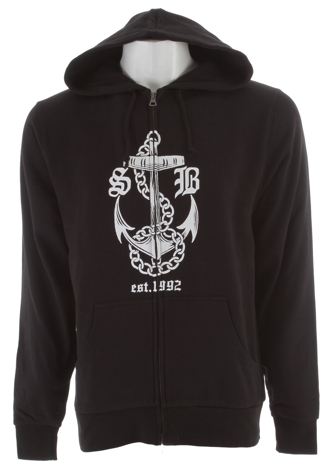 This thing clubs baby seals on the regular! (in a good way)Key Features of the Special Blend Thugby Zip Hoodie: 80% Cotton 20% Polyester 100% Awesome - $29.95