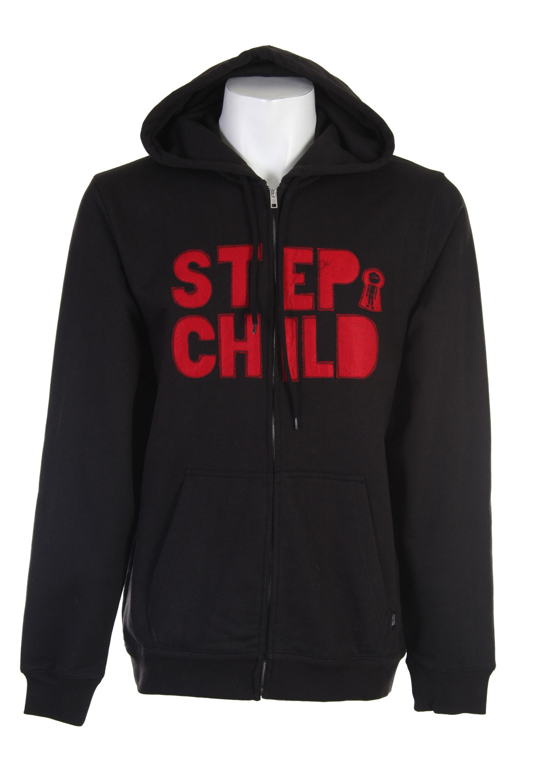 Definitely for the boarder that likes to feel relaxed, the Stepchild Block Applique hoodie is loose, stylish, and great against the elements. Made of fabric designed to make this hoodie stand out, the Stepchild logo is found on the front and stitched for a nice, clean look. It also has pockets for hands to stay comfortably warm in and can be worn casually or while riding. Perfect for guys who like an easy fit when riding.Key Features of The StepChild Switch Applique Hoodie: 500g French Terry Stitched Felt Applique Thumb Holes - $38.95