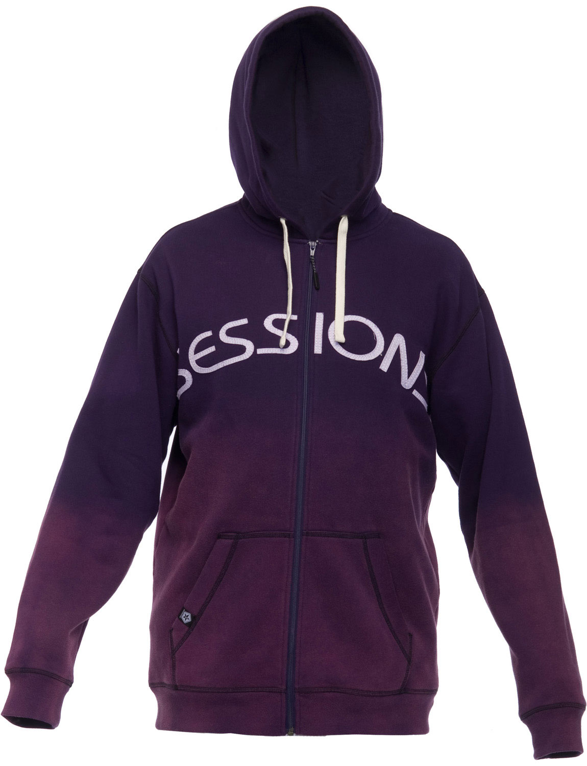 The Sessions Freshman Hoodie. Men's Fleece-Lined Hoodie w/ Felt Patch-On Lettering. - $28.95