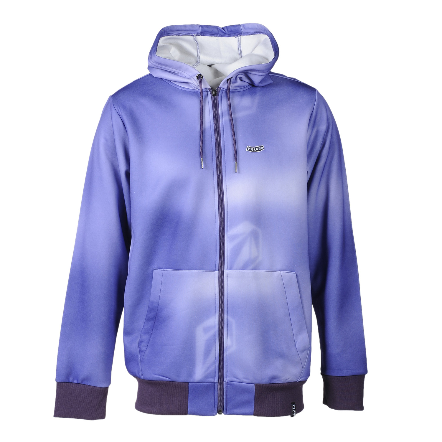 Surf Key Features of the Volcom Chiller Hydro Fleece Hoodie: 280Gm Hydro Fleece Standard Fit Zippered Hand Pockets Drawcord Hood Cinch Whistle Zipper Pull Stone Woven Label Volcom Pistol Embroidery - $44.95