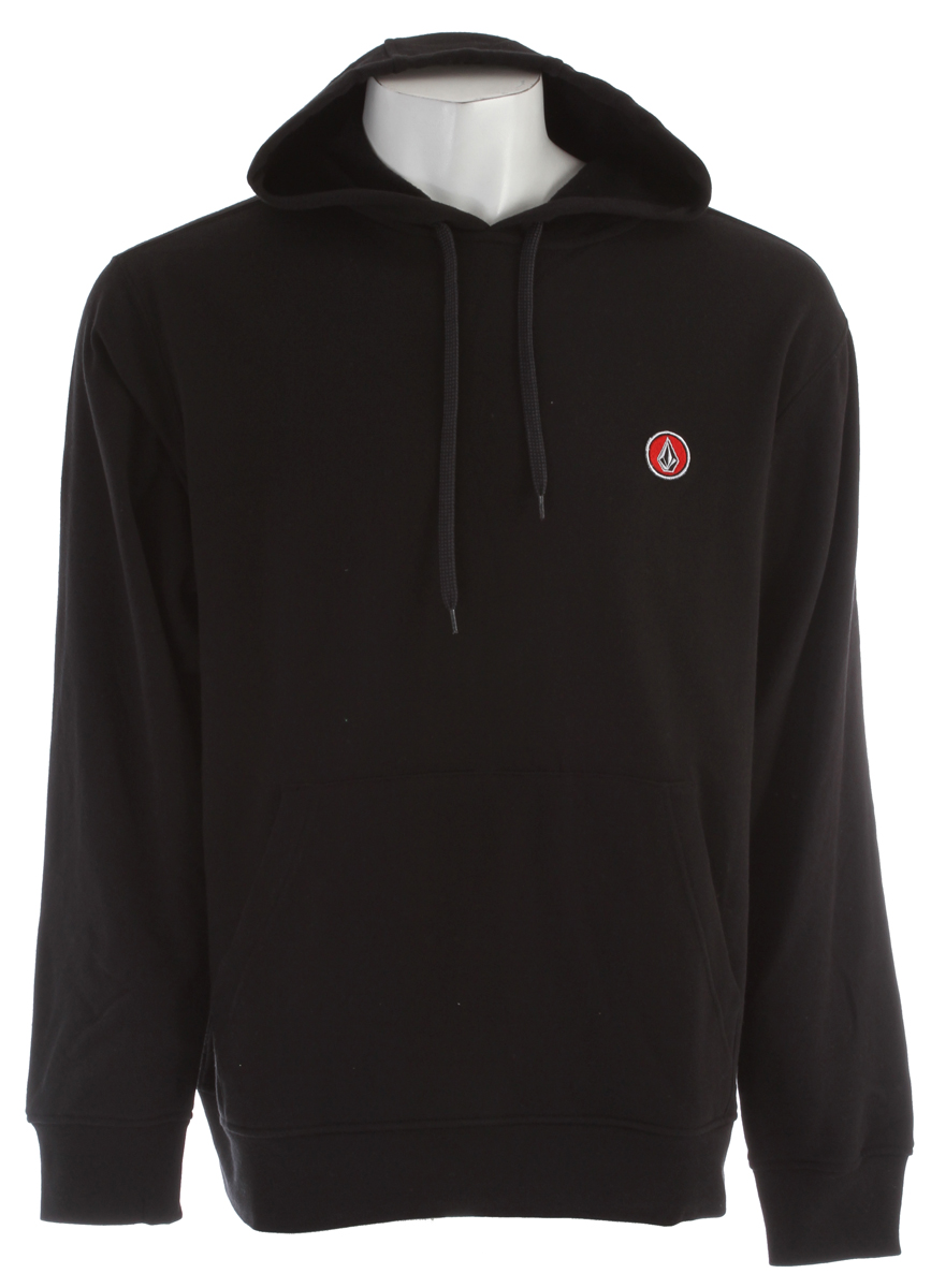 Surf Key Features of the Volcom Eds Pullover Hoodie: Basic hooded pullover Asym back yolk Stone chest patch Color blocked sleeves Pre shrunk, Slim fit 60% cotton/40% polyester fleece, 280gm Core Collection - $33.95