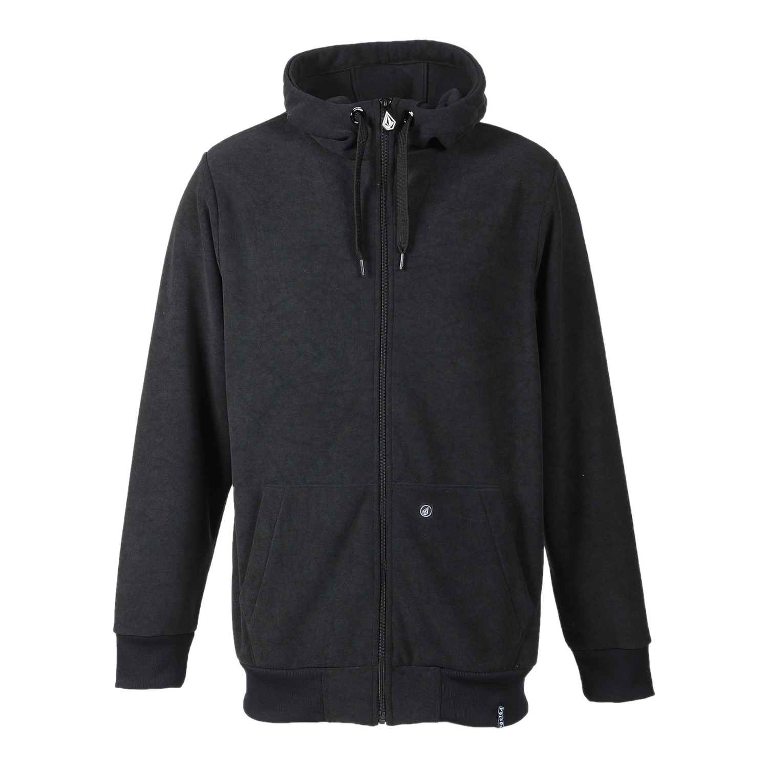 Surf Key Features of the Volcom FT Hoodie: 2-Layer Bonded French Terry Standard Fit Zippered Hand Pockets Drawcord Hood Cinch Whistle Zipper Pull Stone Woven Label - $58.95