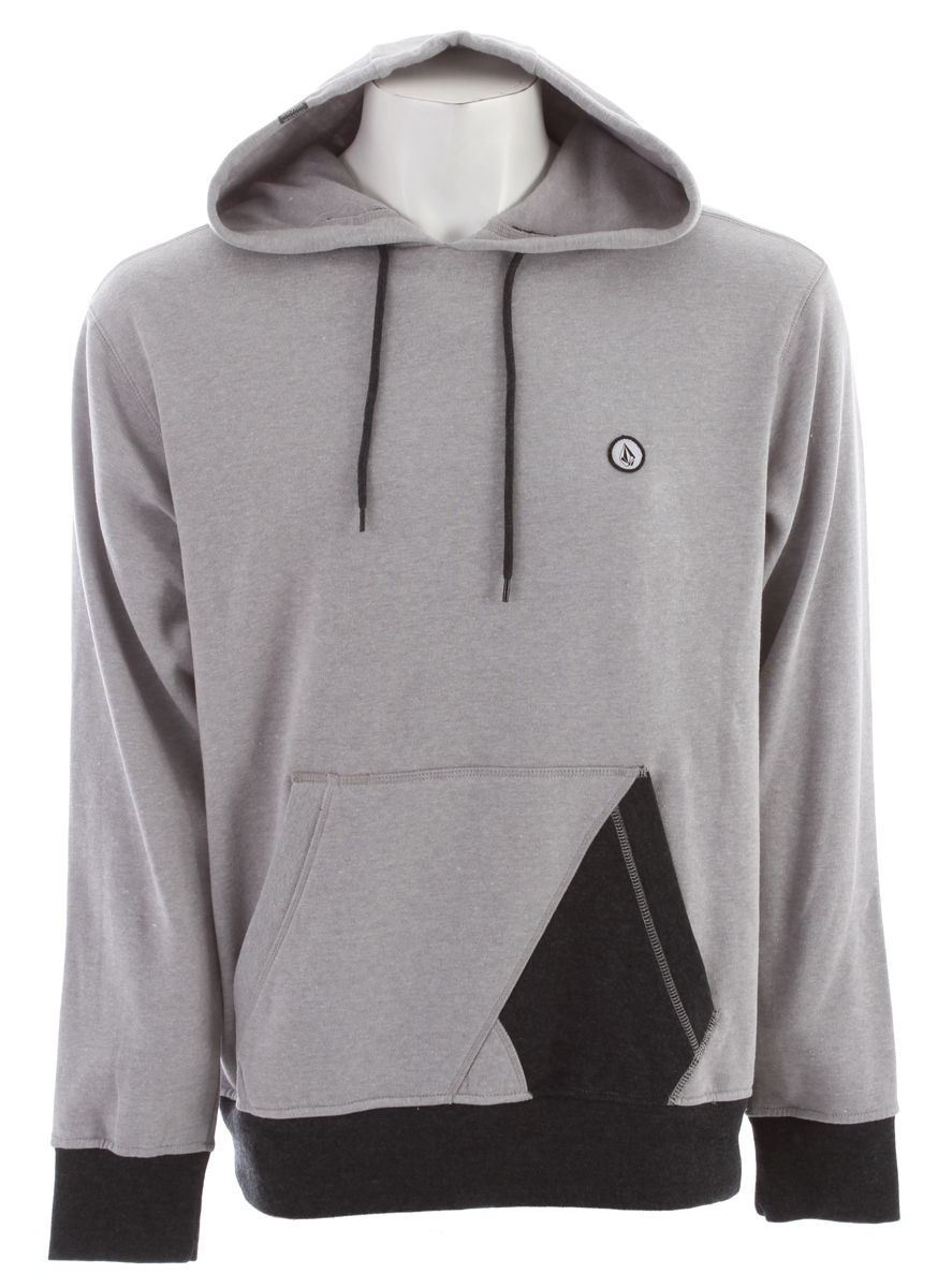 Surf Key Features of the Volcom Lapuente Hoodie: Basic Hooded Pullover Loose knit lightweight fleece All over printed stripes Pre shrunk, Slim fit 60% Cotton / 40% Polyester Fleece, 280gm - $36.95