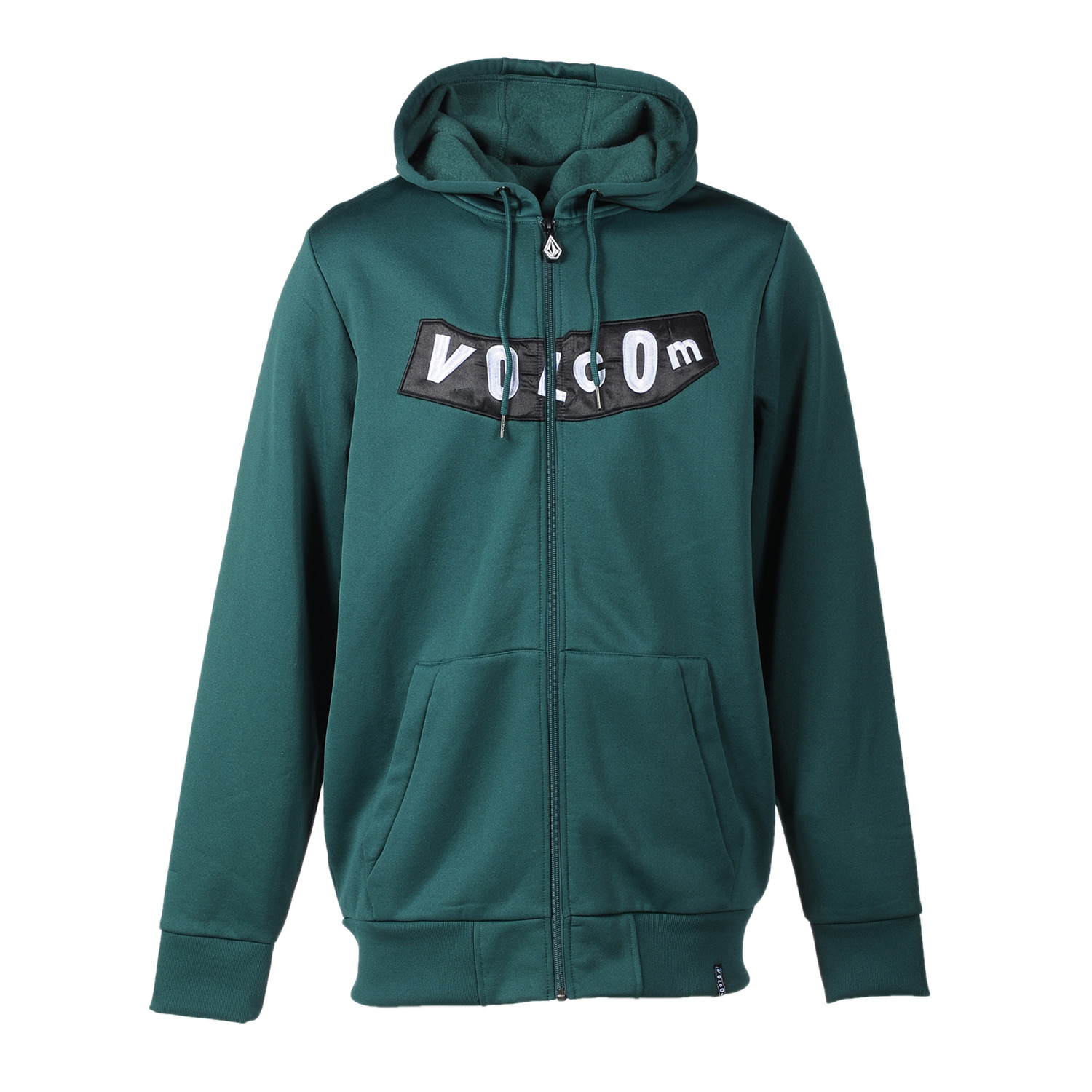 Surf Key Features of the Volcom Pistol Hydro Fleece Hoodie: 280Gm Hydro Fleece Standard Fit Zippered Hand Pockets Drawcord Hood Cinch Whistle Zipper Pull Stone Woven Label Volcom Pistol Applique - $48.95