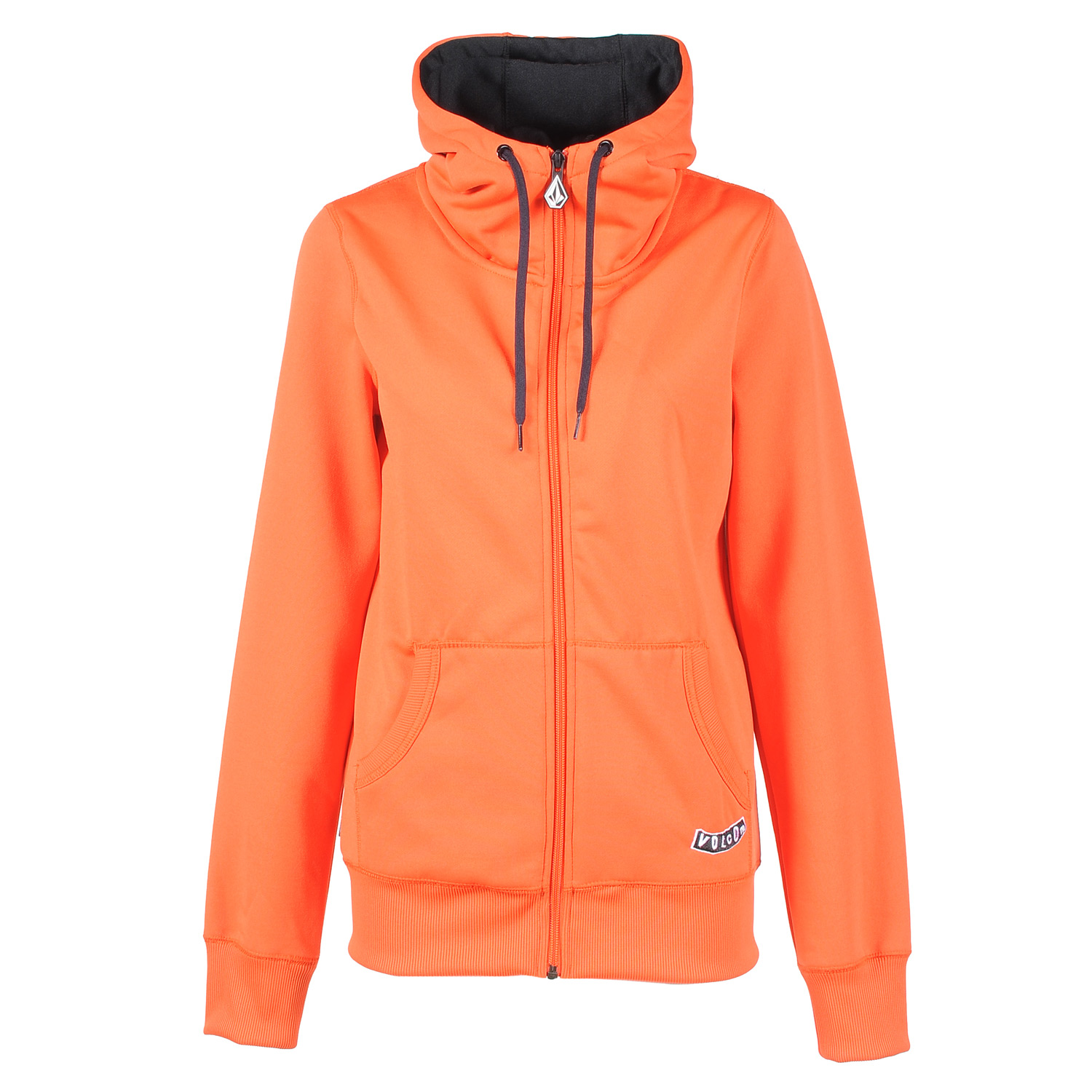 Surf Key Features of the Volcom Studio Basic Hydro Zip Hoodie: Hydrophobic Fleece Full Zip Front Ribbed Cuff Ribbed Hem Drawcord Hood Cinch Circle Stone Embroidery Volcom Pistol Embroidery - $37.95