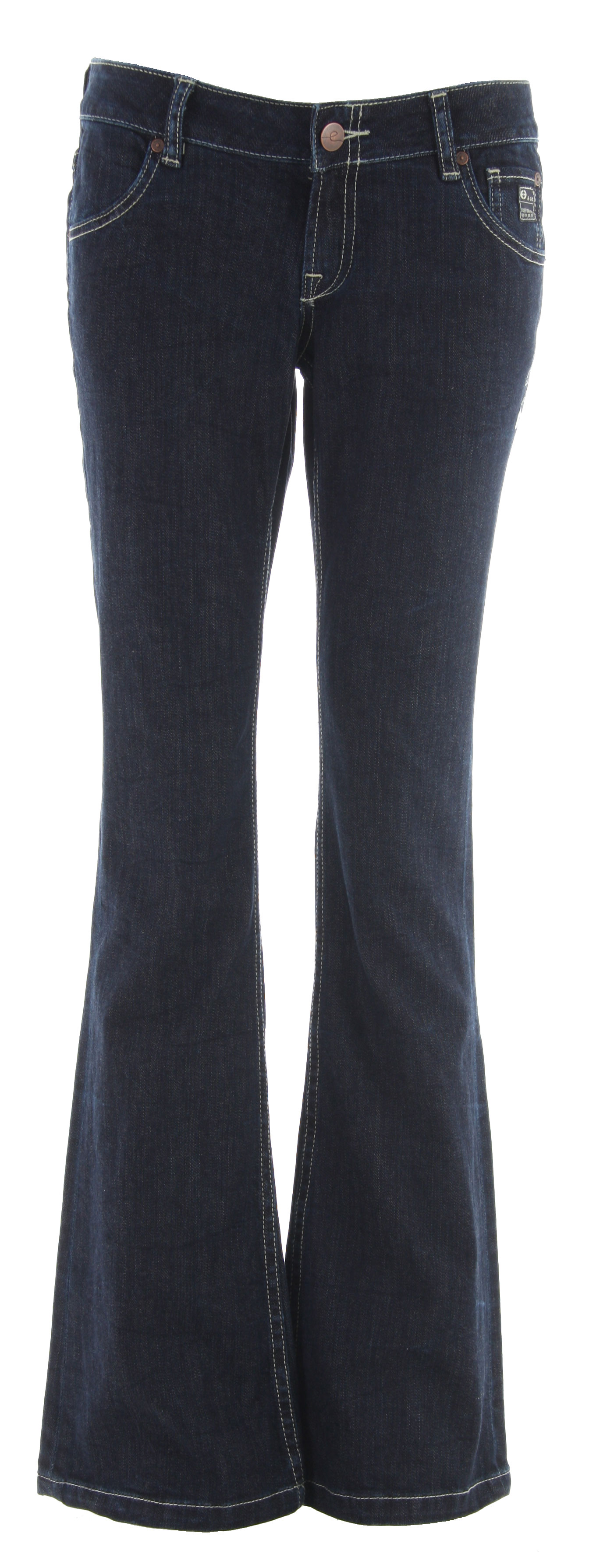 Planet Earth Boot Cut Rinse Wash Jean Indigo - $23.95
