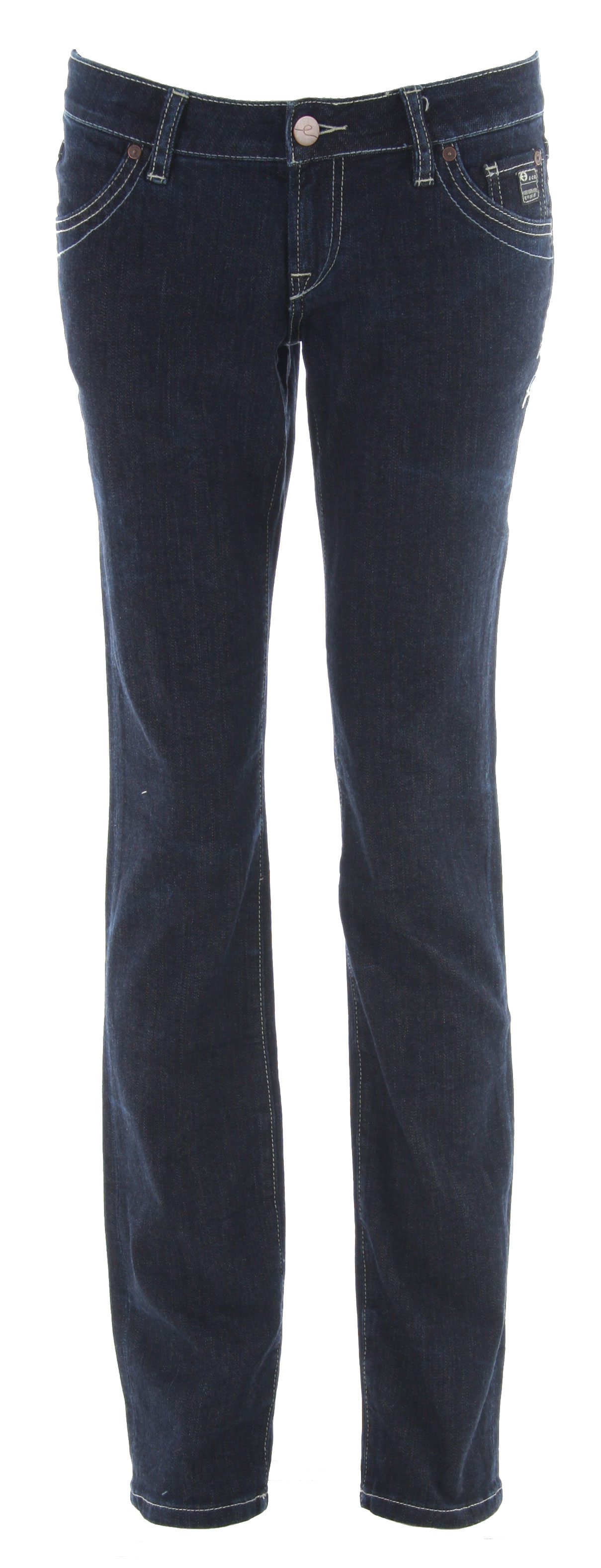 Planet Earth Skinny Cut Rinse Wash Jean Indigo - $23.95