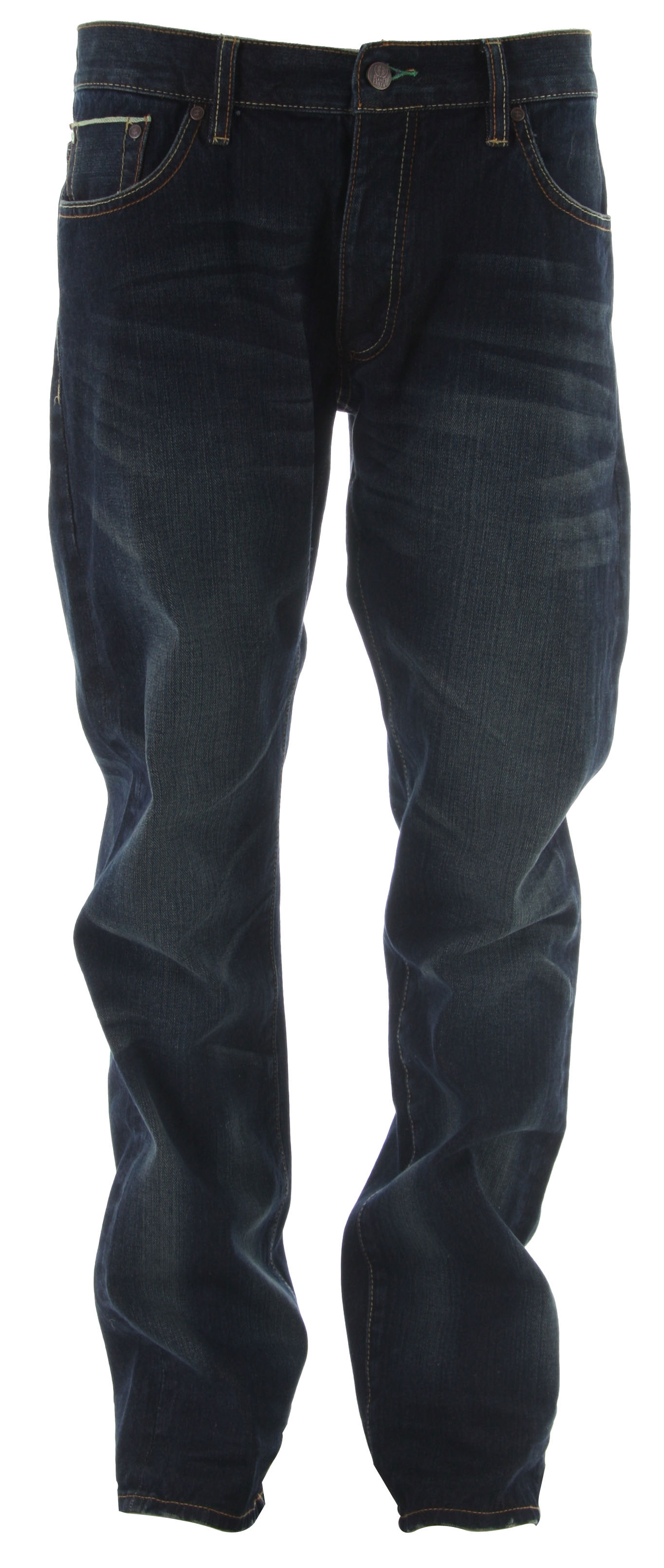 Planet Earth Regular Selvedge Jeans Dark Indigo Wash - $27.95