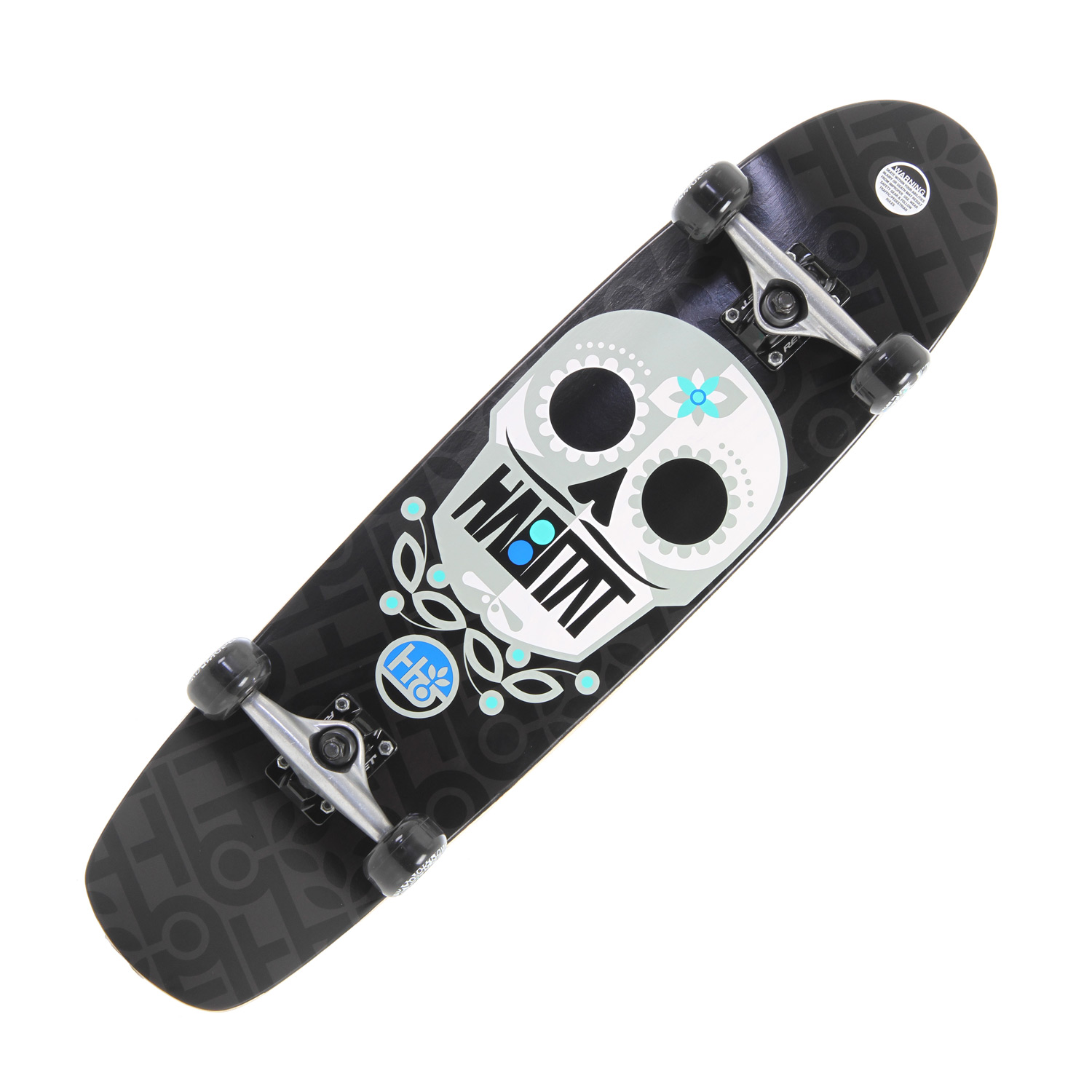 Skateboard Purple AND a Sugar skull? These won't last long. Key Features of the Habitat Angel Sugar Skull Large Longboard Skateboard Complete: Reflex Abec 3 Bearings Reflex Hornet Trucks 56mm/78A Durometer Wheels - $84.95