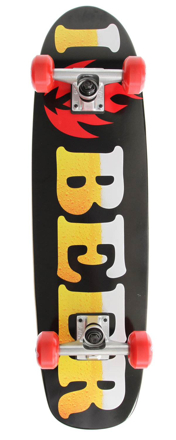 Longboarding Black Label I Love Beer Ripper Longboard Complete - $104.95