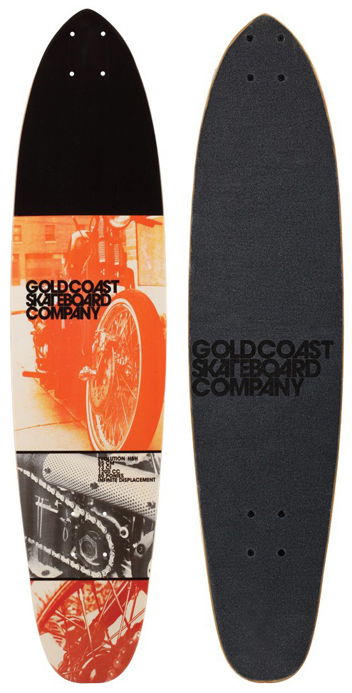 Longboarding Gold Coast Evolution Roller Longboard Deck - $54.95