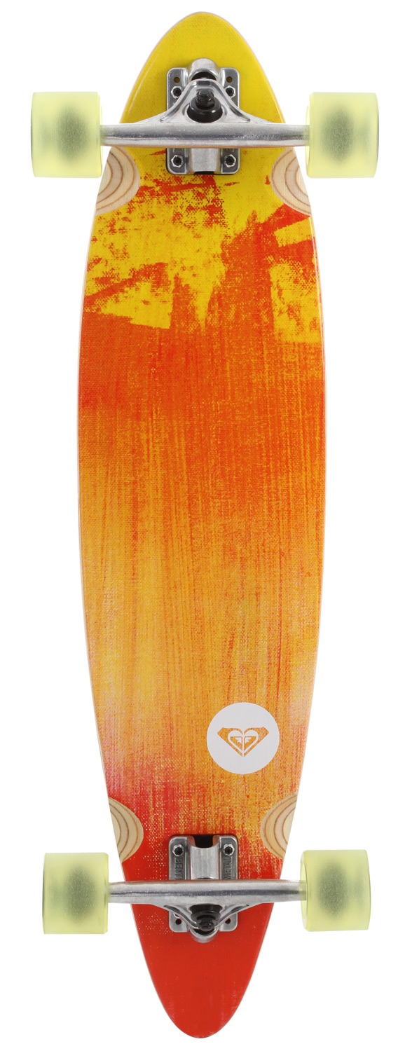 "Skateboard Key Features of the Quiksilver 70's Sled Longboard Skateboard: Resin 7-ply Trucks 180mm inverted Wheels 65mm 83A Dimensions: 8.06 x 34"" - $170.00"