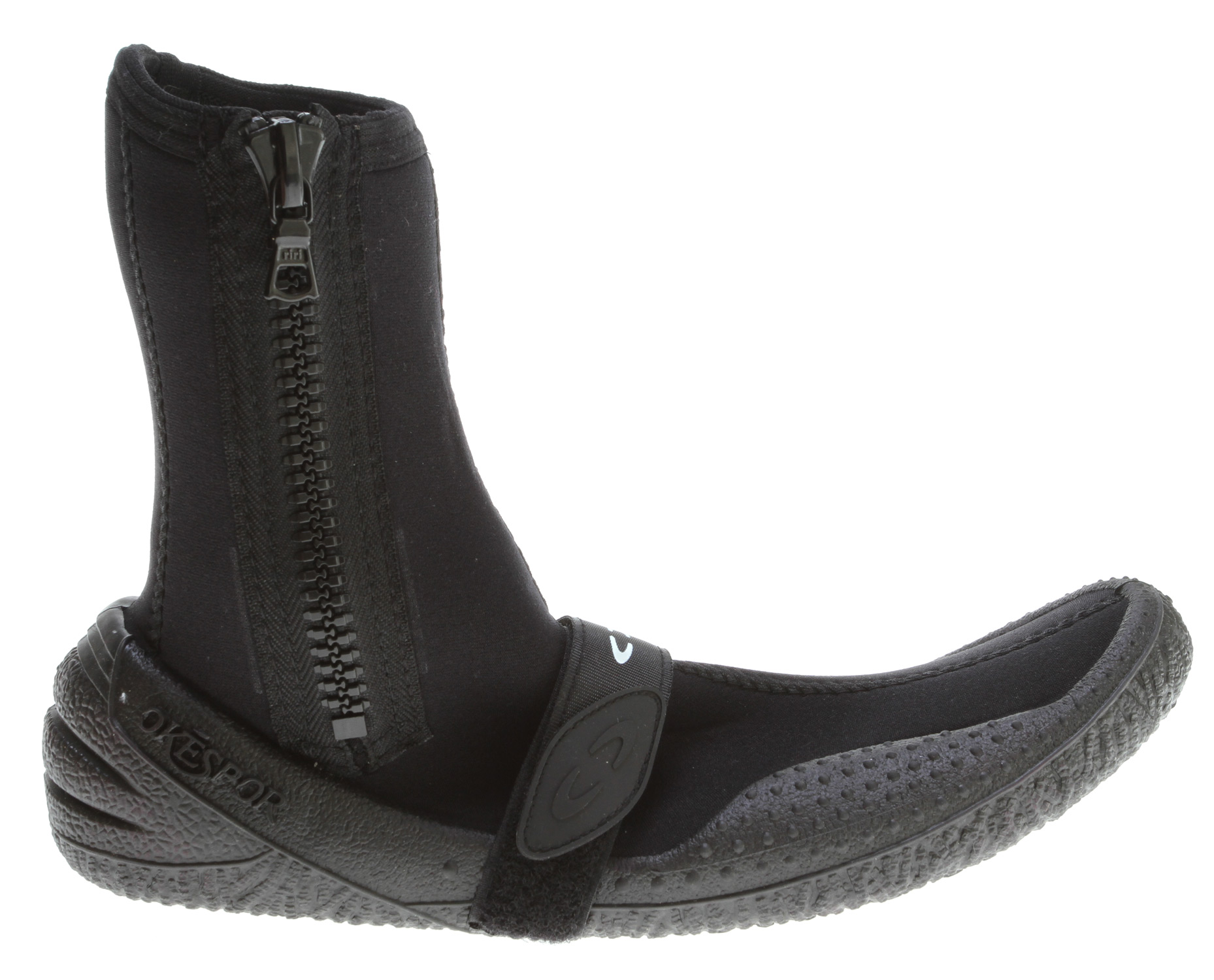 Fitness A cold water high boot with a side zipper for easy entry. 4mm construction with an injection molded sole and reinforced heel w/ arch strap. - $70.00