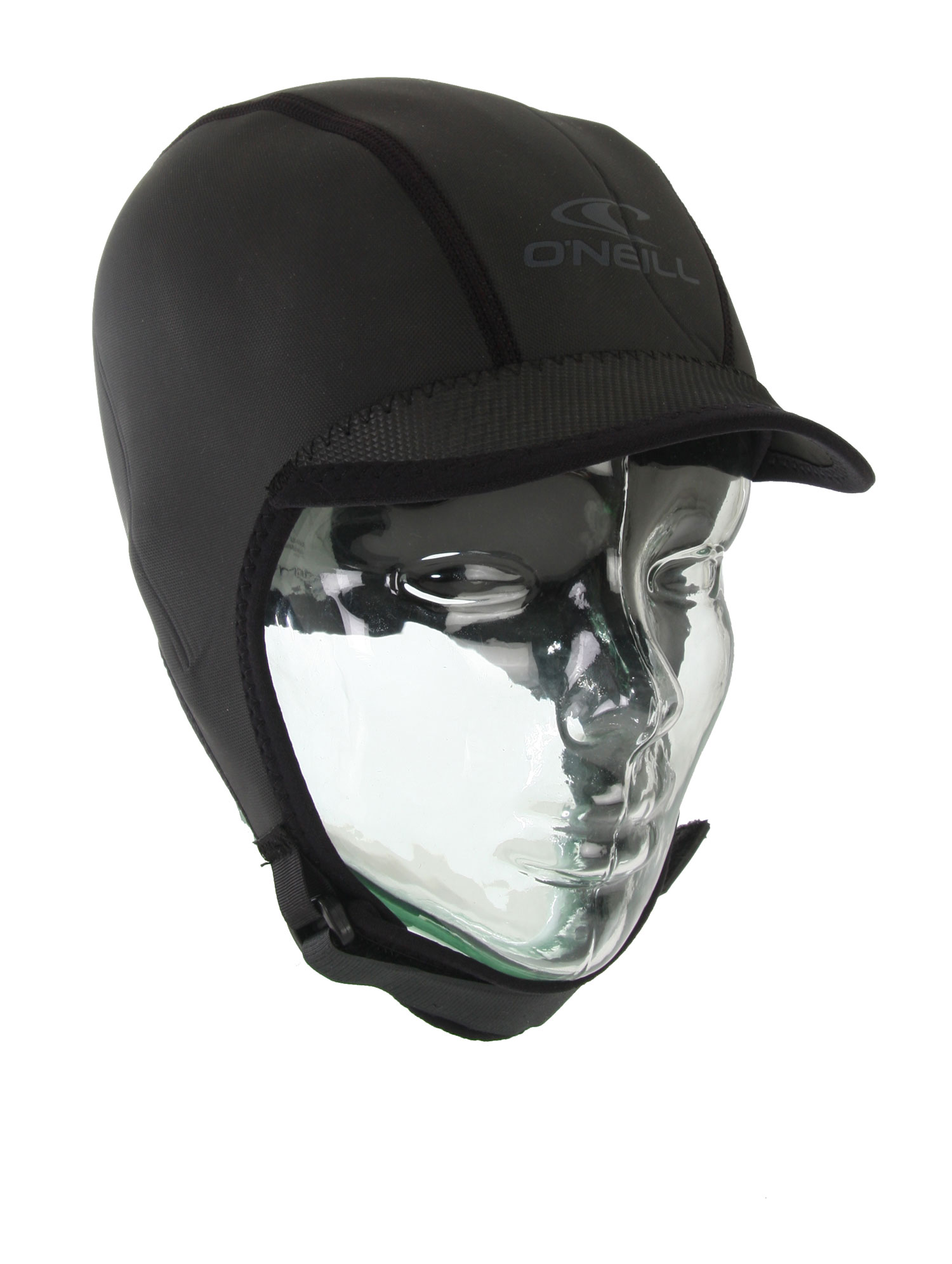 Surf Key Features of the O'Neill 2mm Sports Cap Black:Wind Resistant Smooth Skin (SL) Exterior - Flatloc Stitched - Lightweight Fluid Foam SL Neoprene - UV Protection - Visor Blocks Sun/Channels Water from Eyes - Adjustable Chin Strap - $35.95
